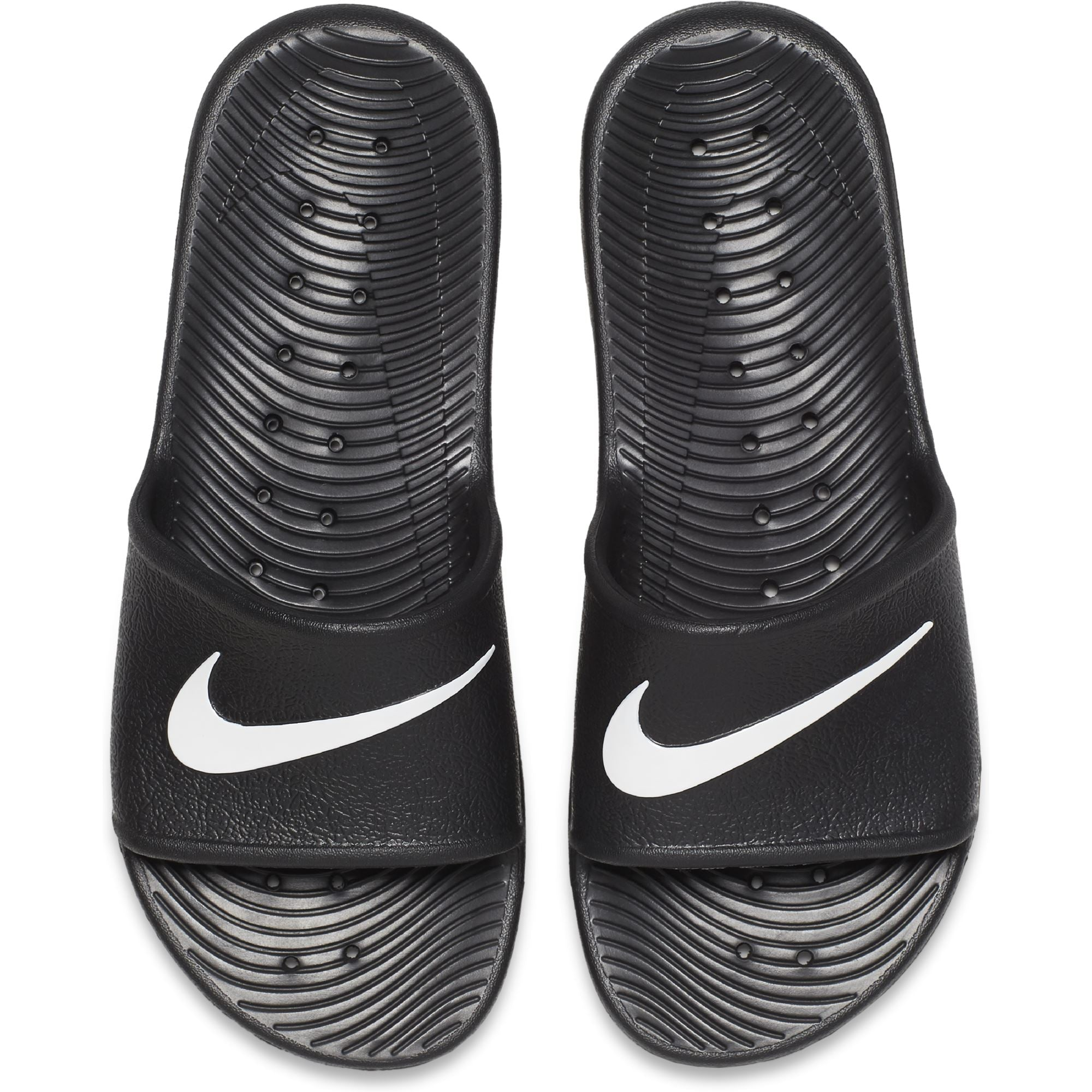 Nike Mens Kawa Shower Slide - Black/White Q3NIKE Nike