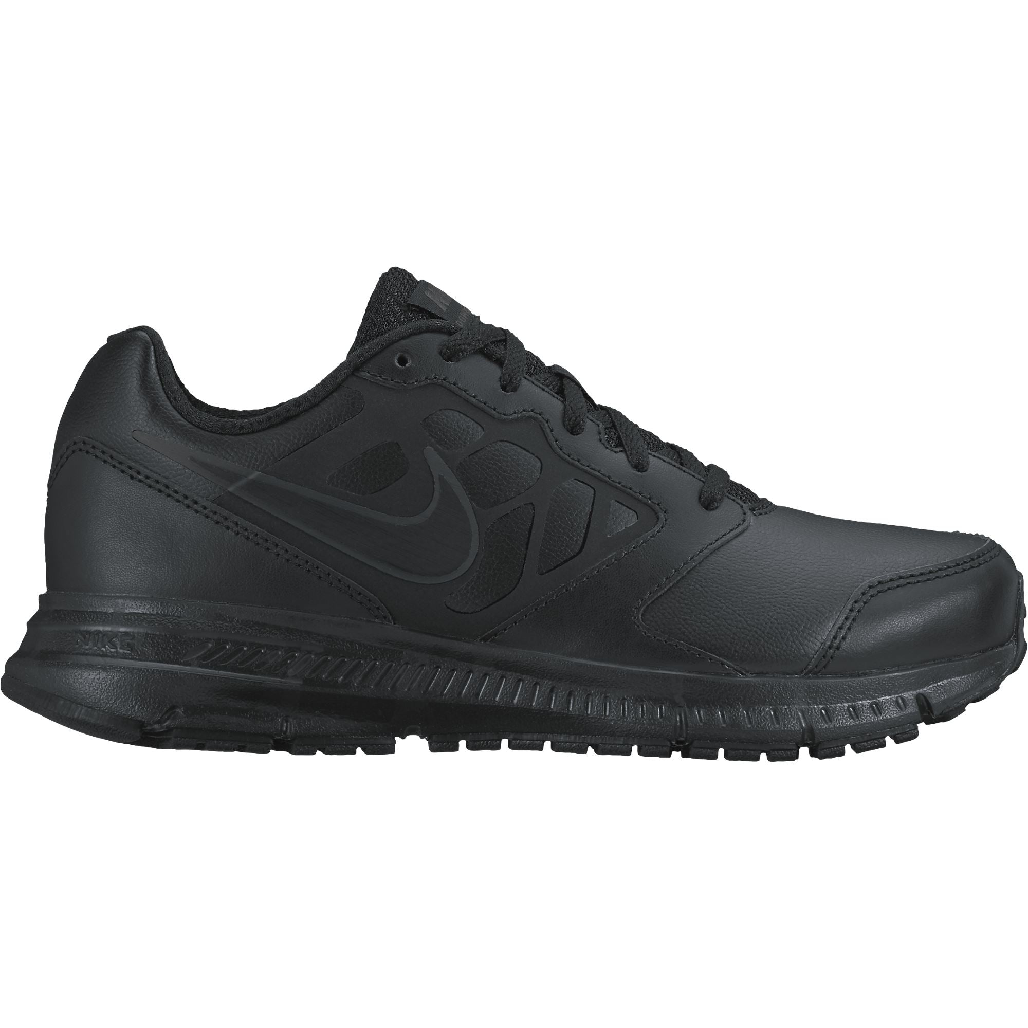 Nike Boys Downshifter 6 Ltr (GS) Running Shoe - Black/Black-Anthracite Q3NIKE Nike