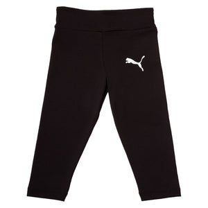 Puma Girls Active Leggings -Black Apparel Puma