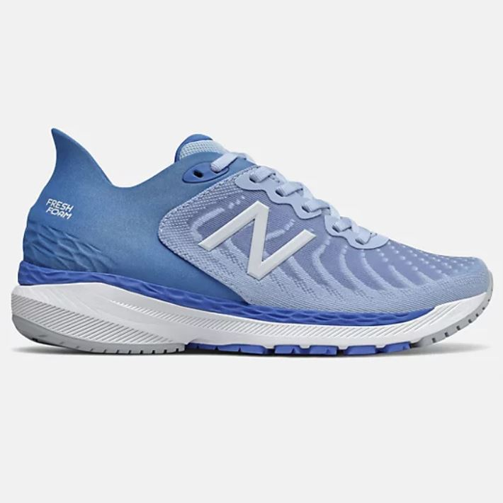 New Balance Womens Fresh Foam 860v11 - Frost Blue with Faded Cobalt SP-Footwear-Womens New Balance