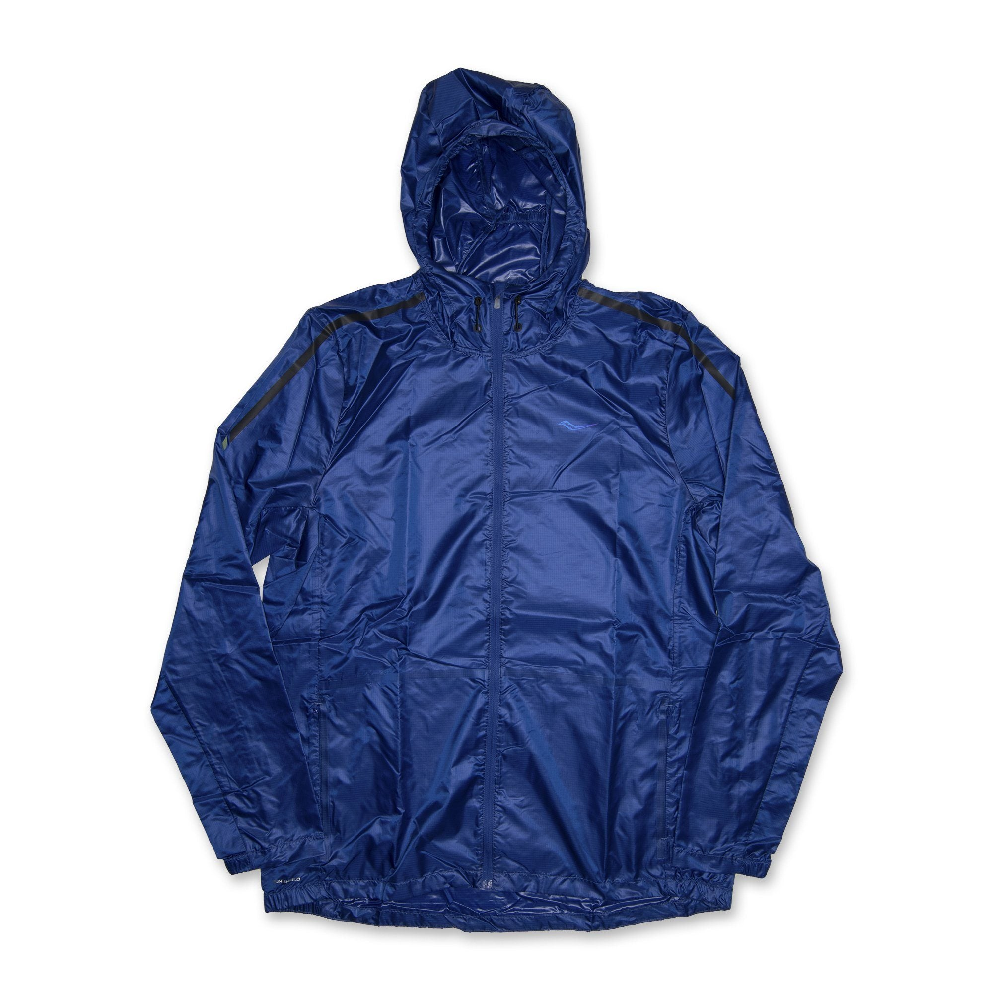 Saucony Mens Pack It Run Jacket - Blue SP-ApparelJacket-Men Saucony