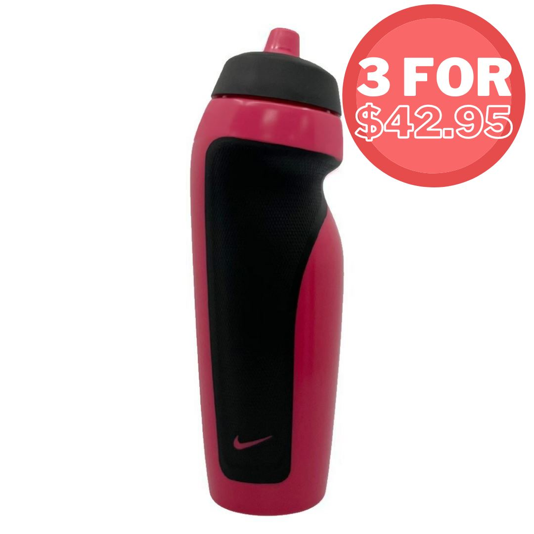 Nike Sport Water Bottle 600ml Anthracite/Black SP-Accessories-DrinkBottles Nike