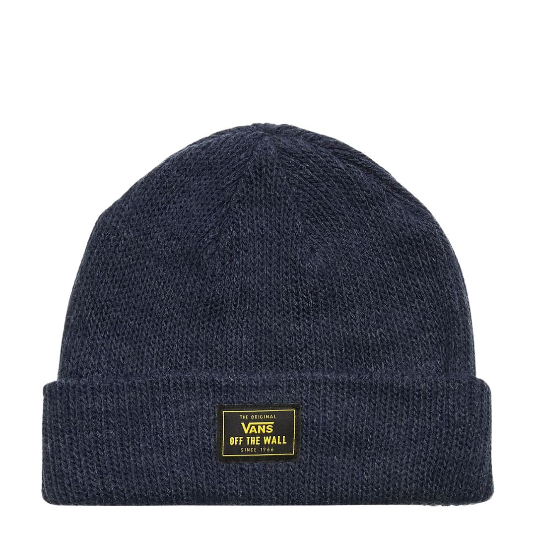 Vans Bruckner Cuff Beanie - Dress Blues Heather SP-Headwear-Beanies Vans