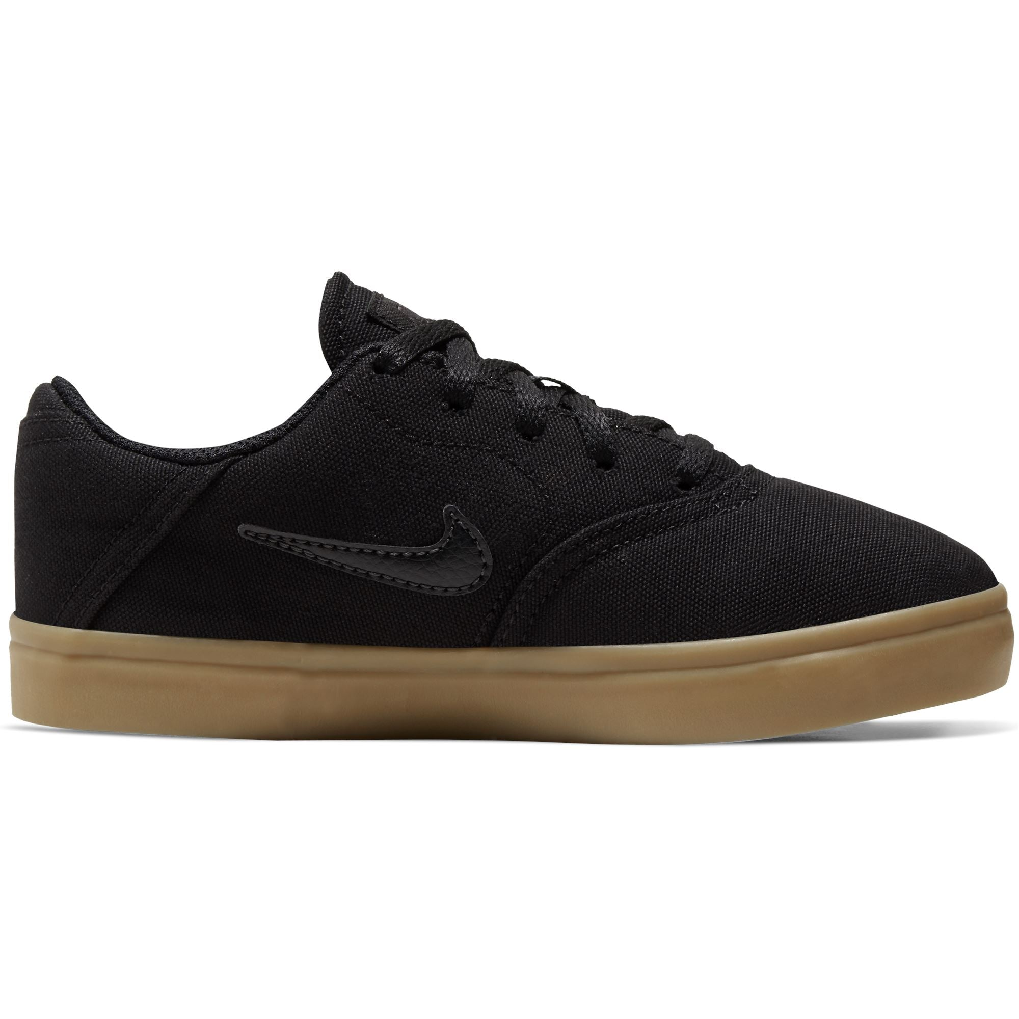 Nike Mens Sb Check Canvas - Black/Black-Gum Light Brown SP-Footwear-Mens Nike