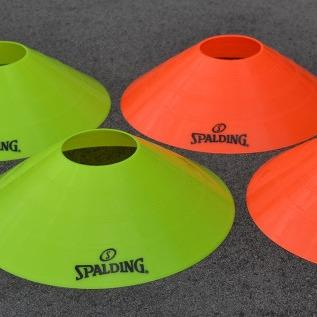 Spalding Training Discs - Orange & Yellow SportsPower Geelong