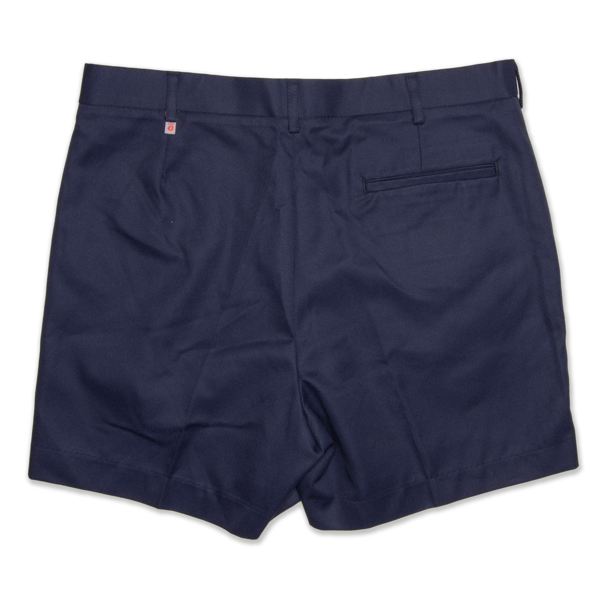 King Gee Plain Front Men's Shorts - Navy Workwear King Gee