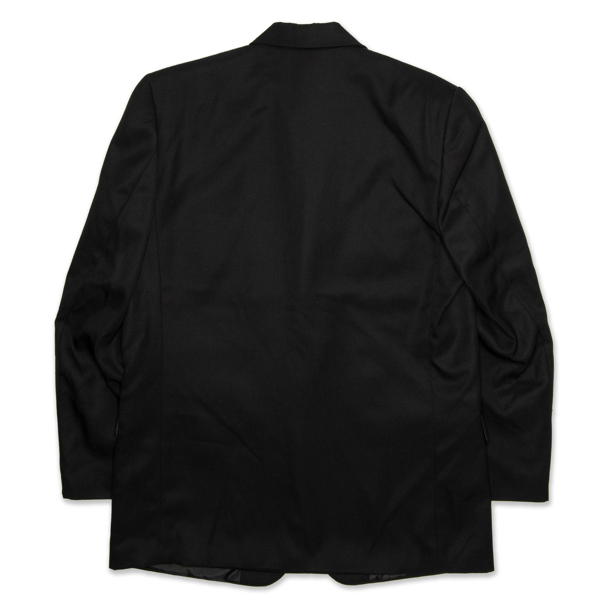 Fred Bracks Single Breasted 2 Button Boy's Jacket - Black Workwear Fred Bracks