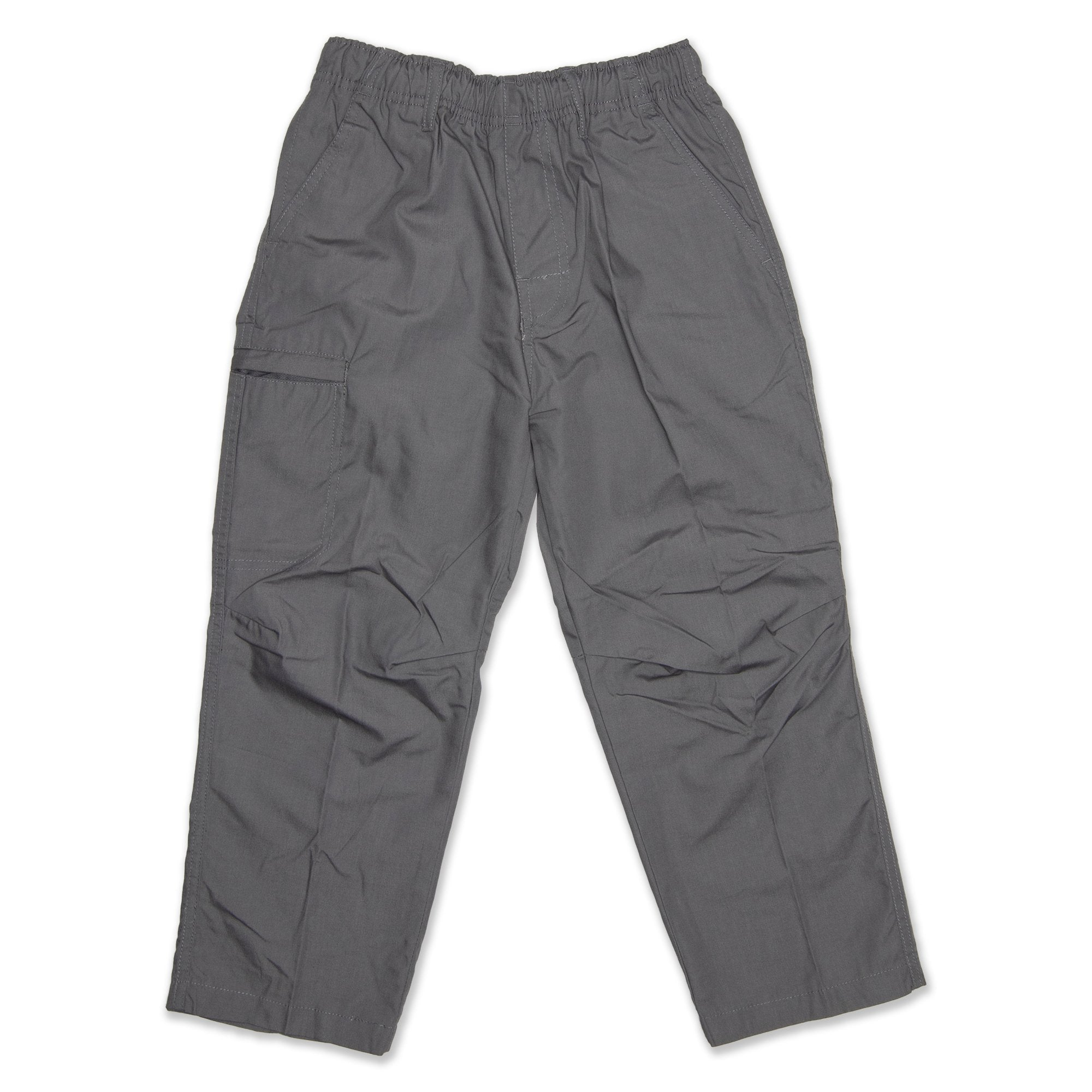 Stubbies School Wear Canvas Pant - Grey Workwear Stubbies