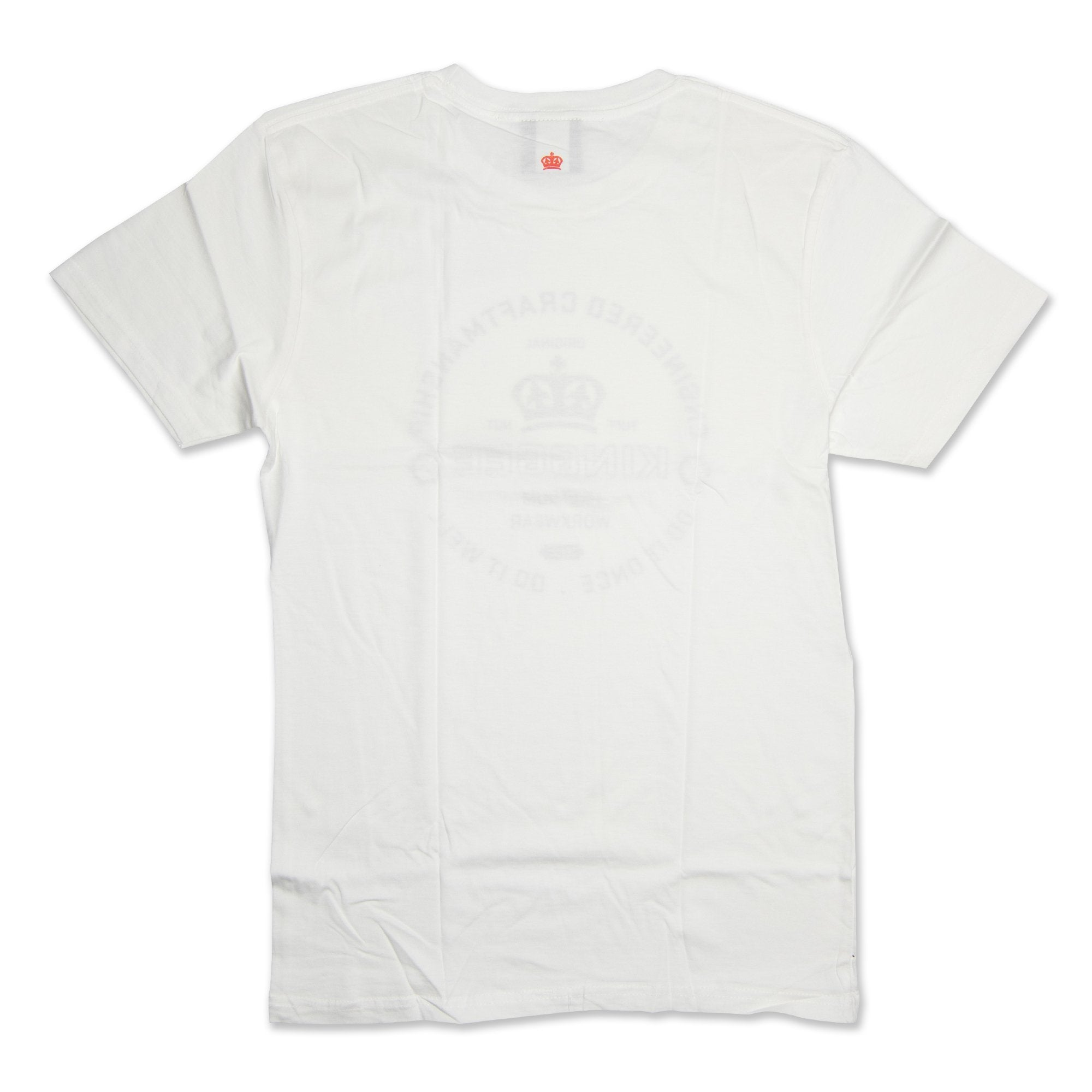 King Gee Tradies T-Shirt - White Workwear King Gee