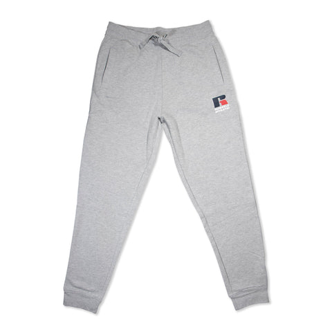 Russell Mens Athletic Logo Trackpant - Ashen Marle SP-ApparelPants-Mens Designworks