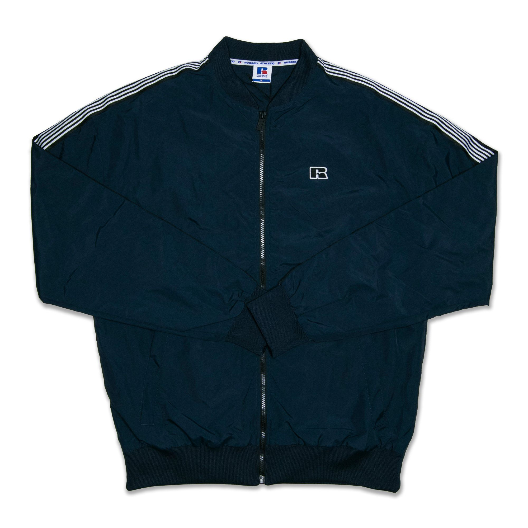 Russell Mens Iconic Retro Bomber Jacket - Carbon SP-ApparelJackets-Mens Designworks