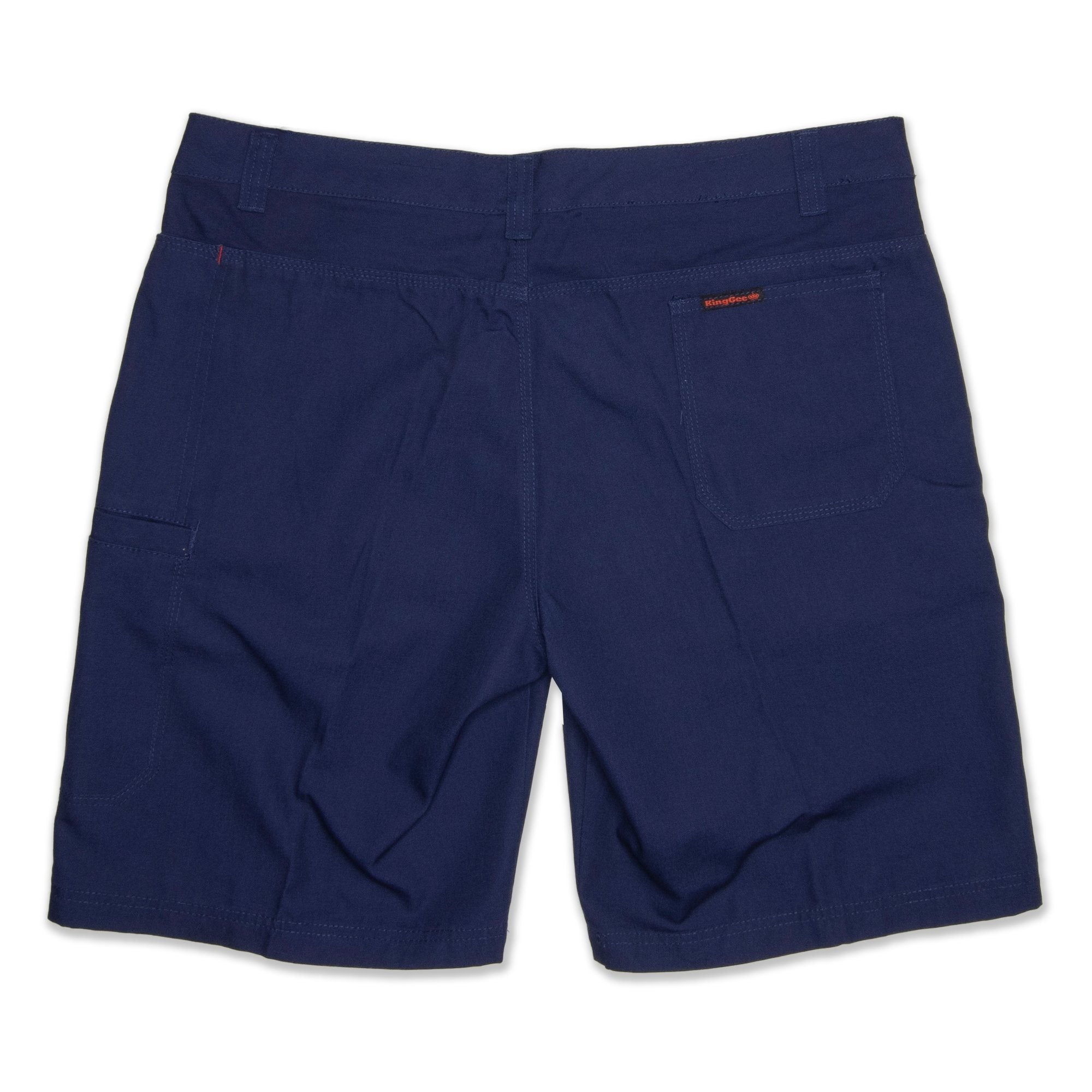 King Gee Men's Steel Short - Navy Workwear King Gee