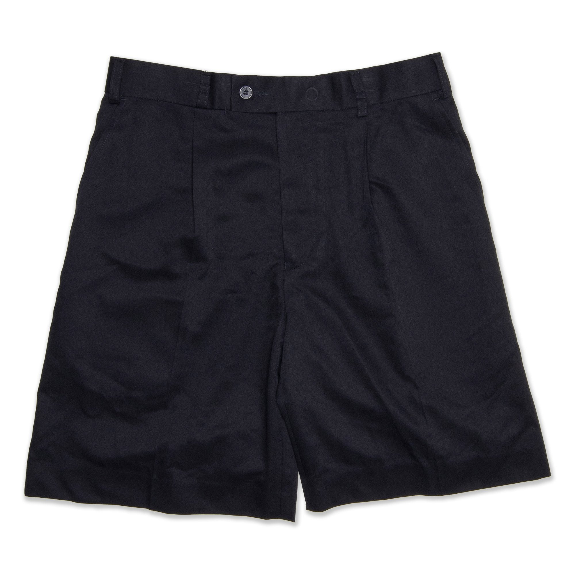 NNT Pleat Men's Shorts - Navy Workwear NNT