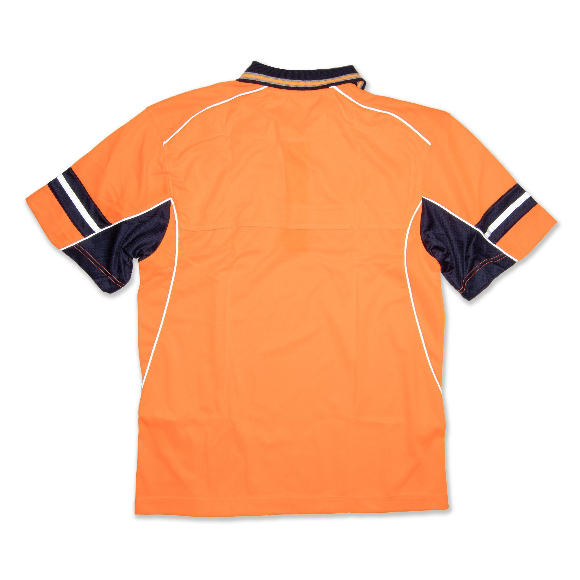 Hard Yakka Kool Gear Hi Vis Short Sleeve Women's Shirt - Orange Workwear Hard Yakka
