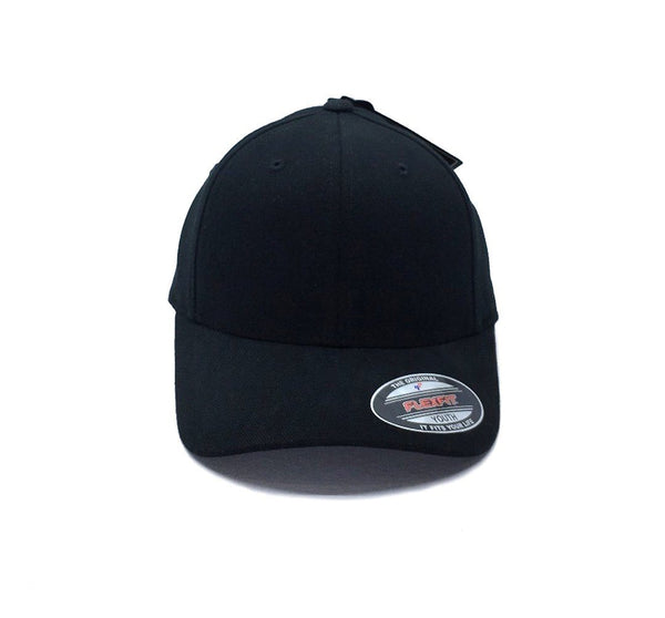 Flexfit Worn By The World Fitted Youth - Black SP-Headwear-Caps Flexfit