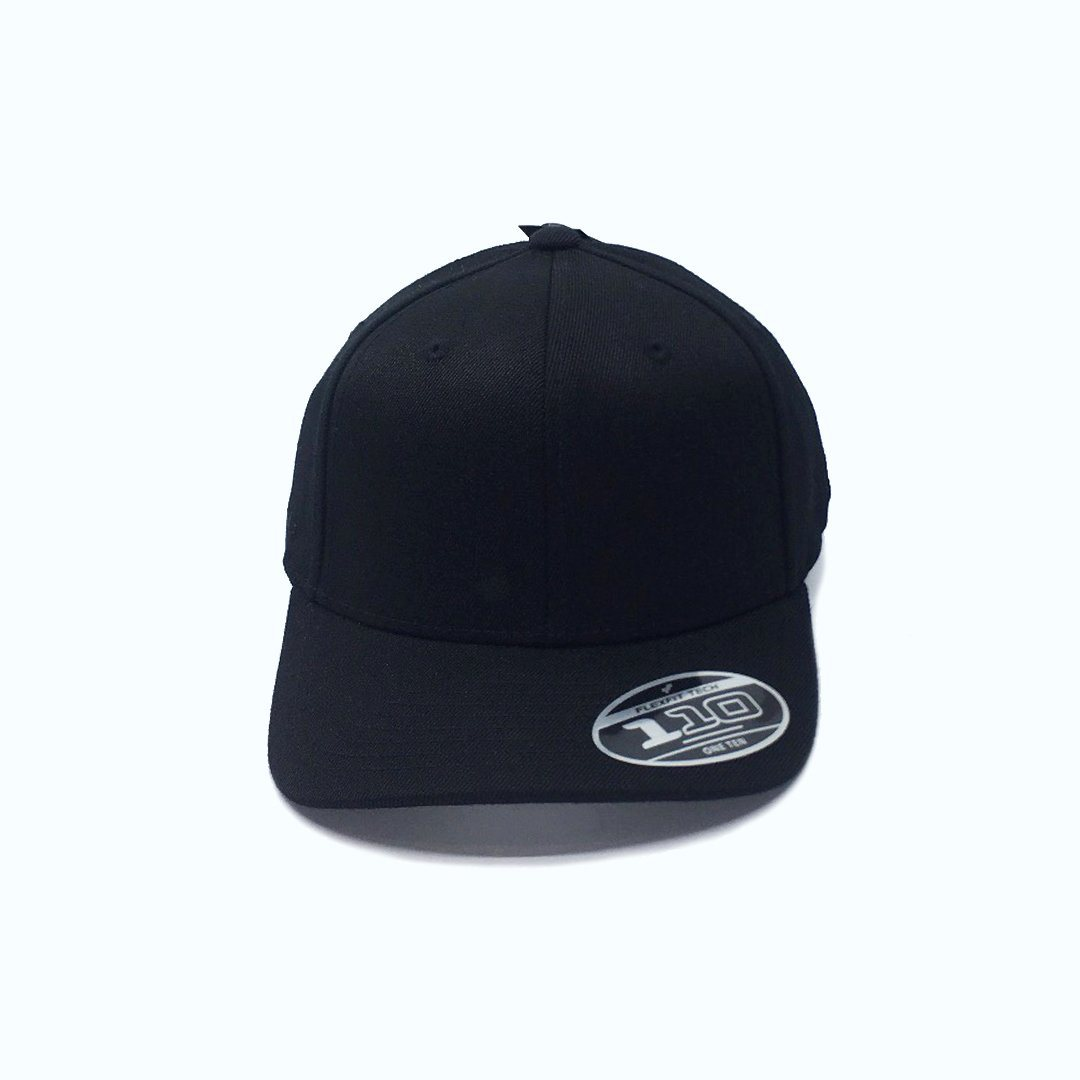 Twiggy 110 Snapback Youth Black SP-Headwear-Caps SportsPower Geelong