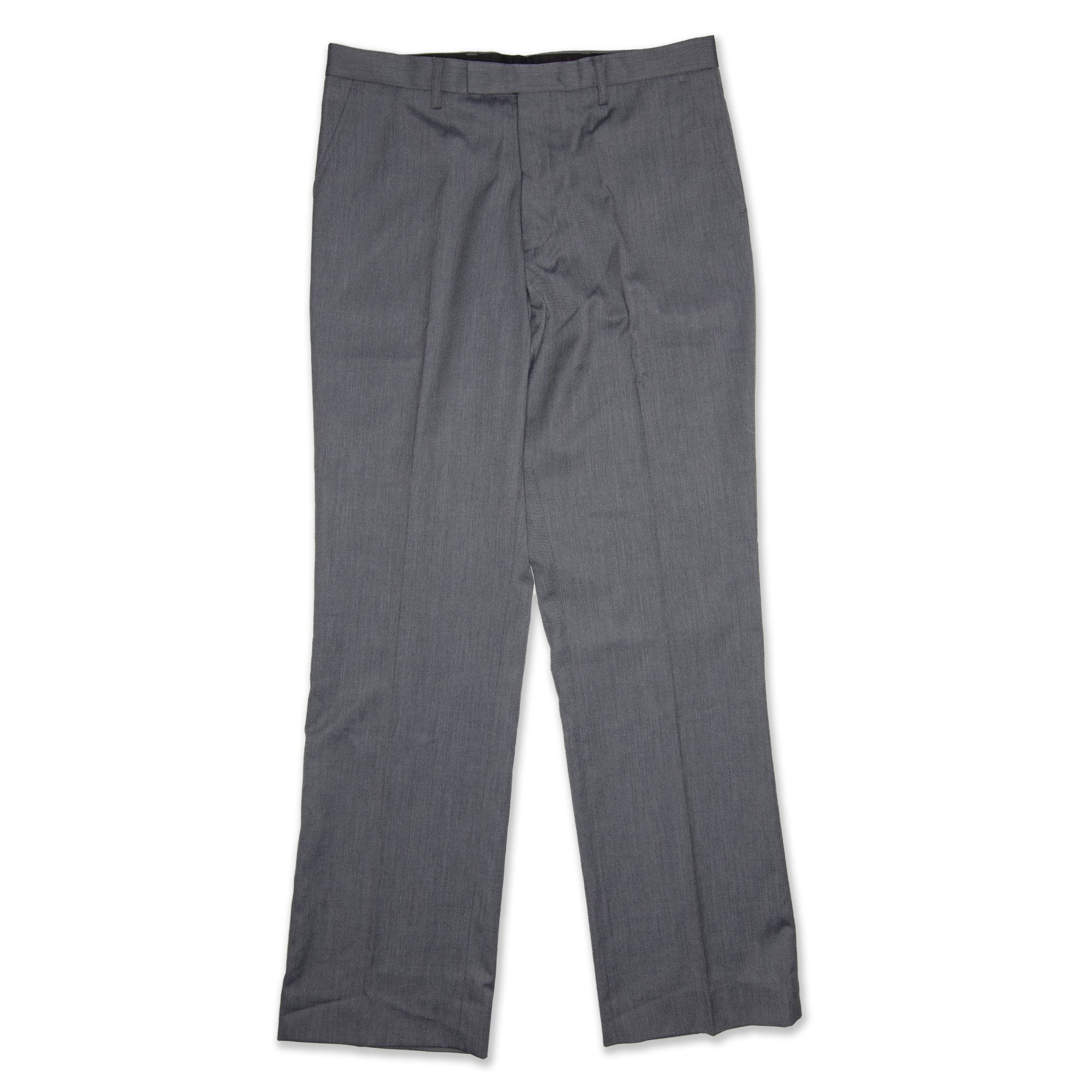 Bracks Tom Pleat Men's Pant - Light Grey Workwear Bracks