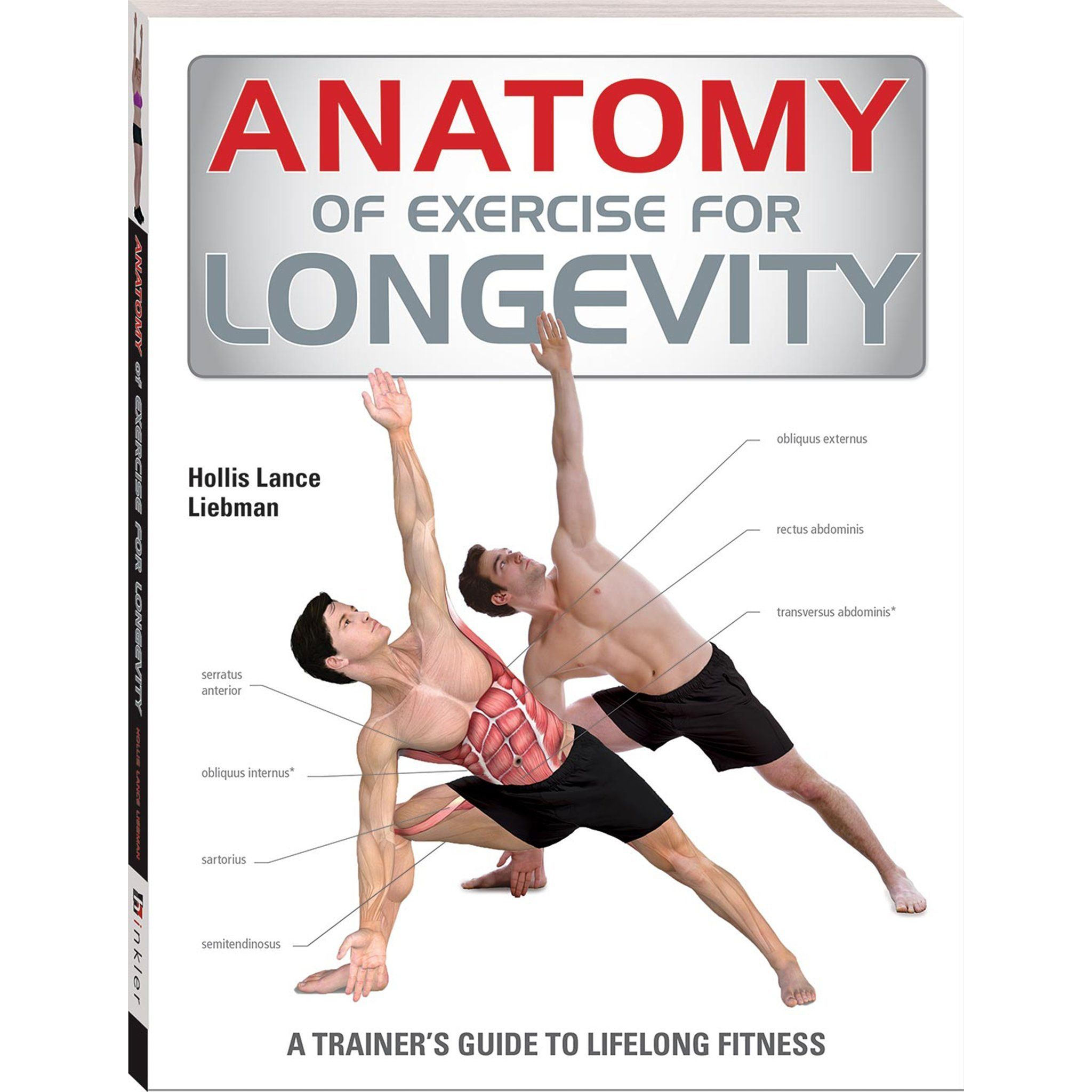 Anatomy of Exercise for Longevity Book Books Hinkler Books