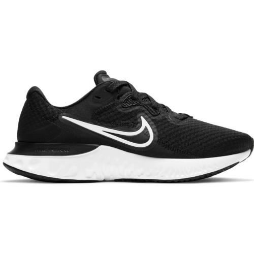 Nike Mens Renew Run 2 - Black/White-Dk Smoke Grey SP-Footwear-Mens Nike