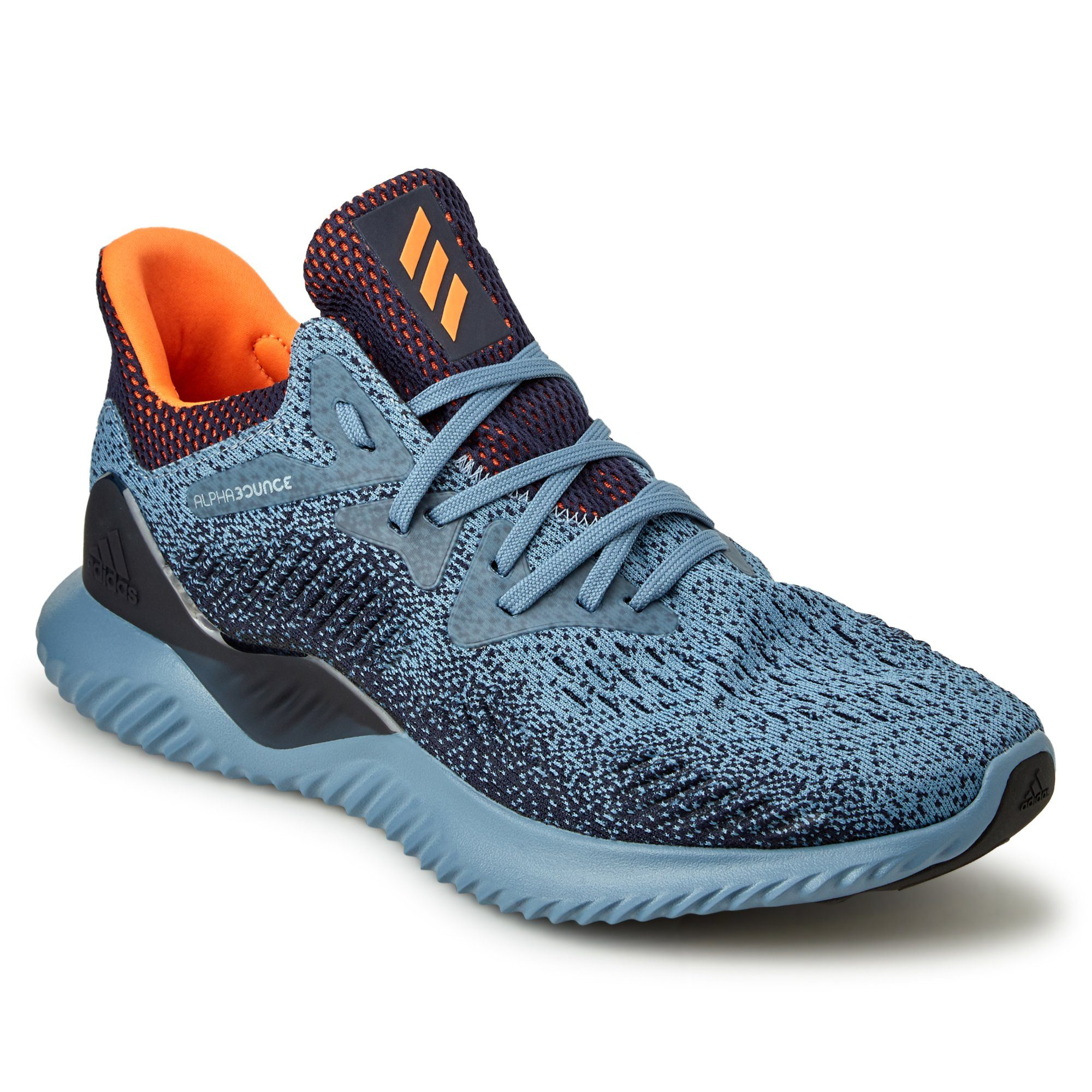 Adidas Men's Alphabounce Beyond Shoes - Raw green/HiResOrange/Legend Ink Footwear Adidas  (2012420309051)
