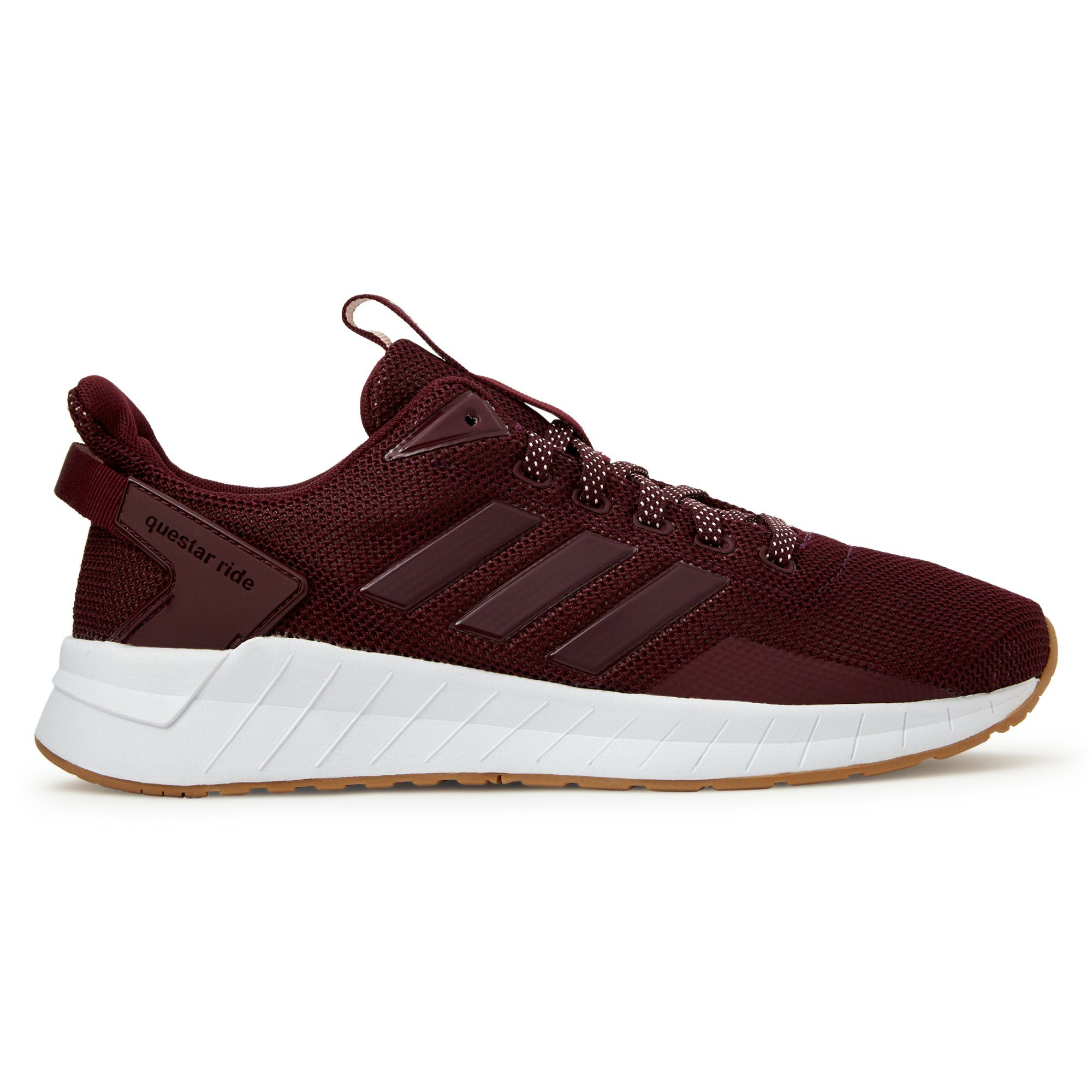 Adidas Women's Questar Ride Shoes - Maroon/Maroon/Gum4 Footwear Adidas