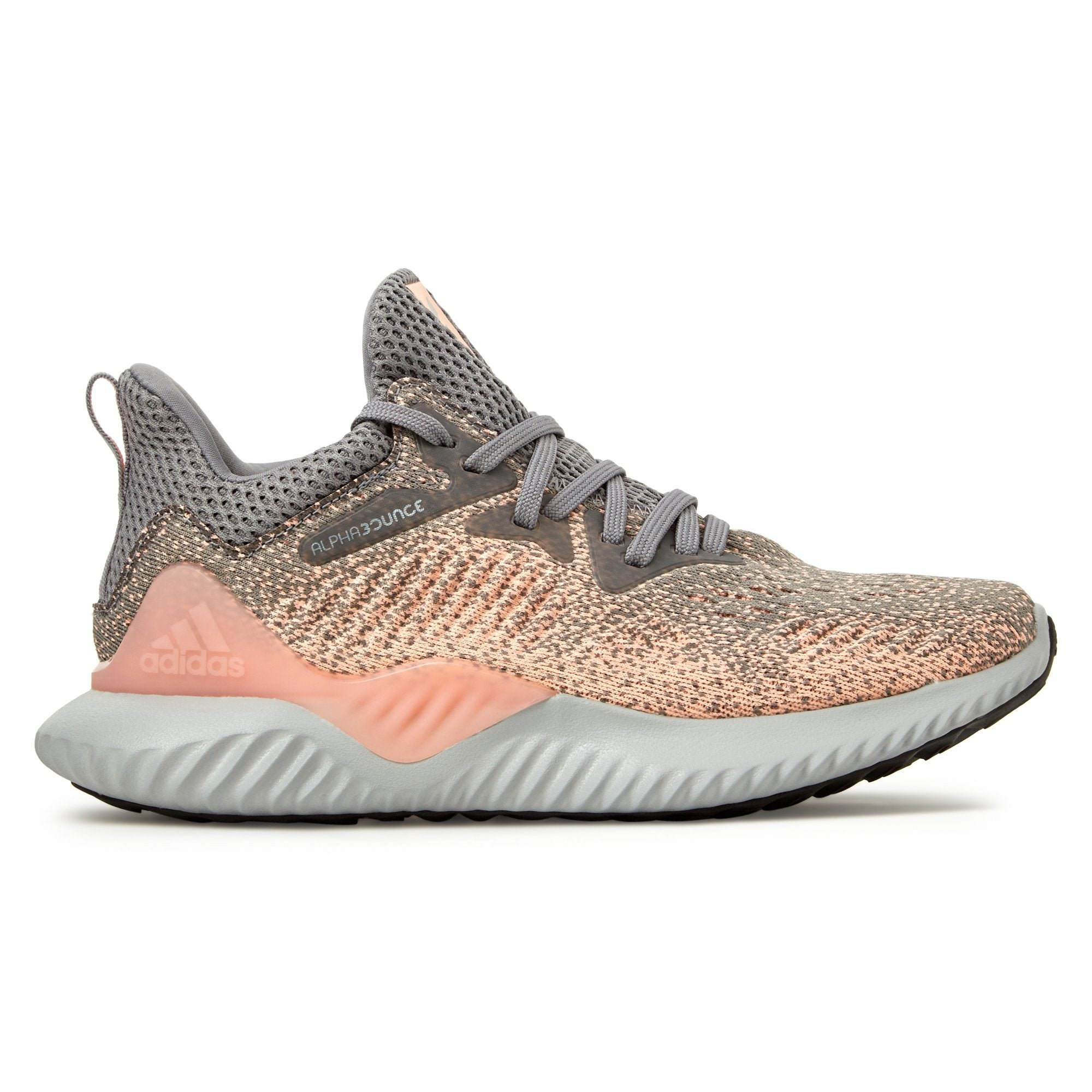 Adidas Kid's Alphabounce Beyond Shoes - Grey Three / Grey Two / Real Magenta Footwear Adidas