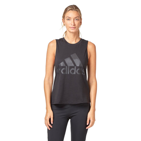 Adidas Women's Essential Solid Tank - Black SportsPower Geelong
