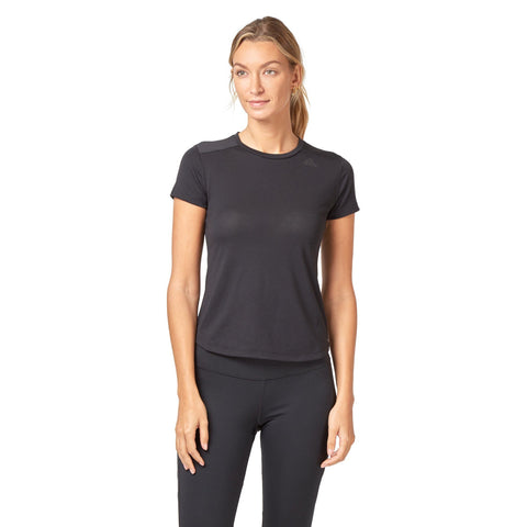 Adidas Women's Prime Mix Tee - Black SportsPower Geelong