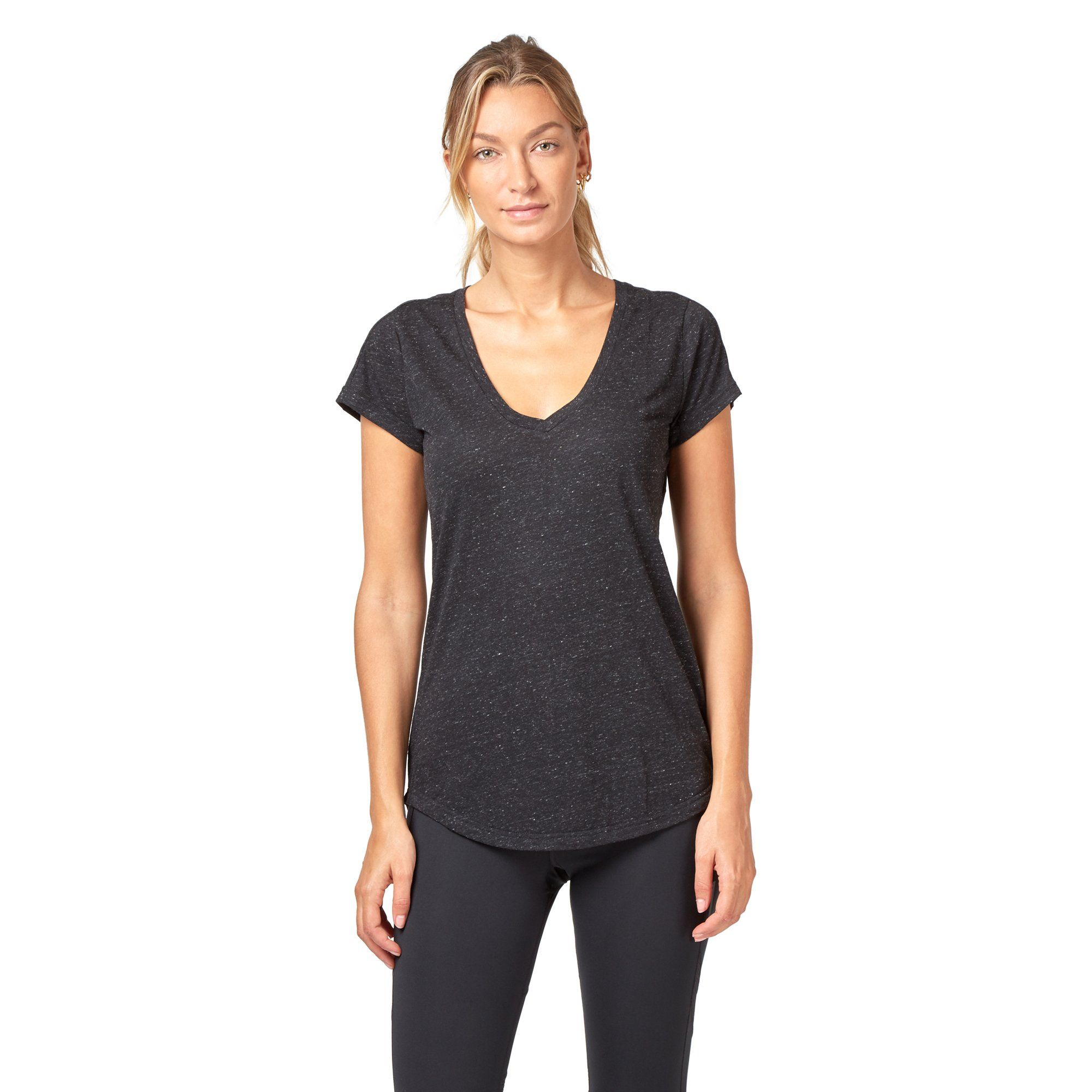 Adidas Women's ID Winners Tee - Black SportsPower Geelong  (2012420472891)