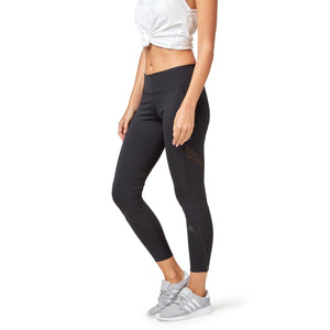 Adidas Women's How We Do Long Tights - Black SportsPower Geelong