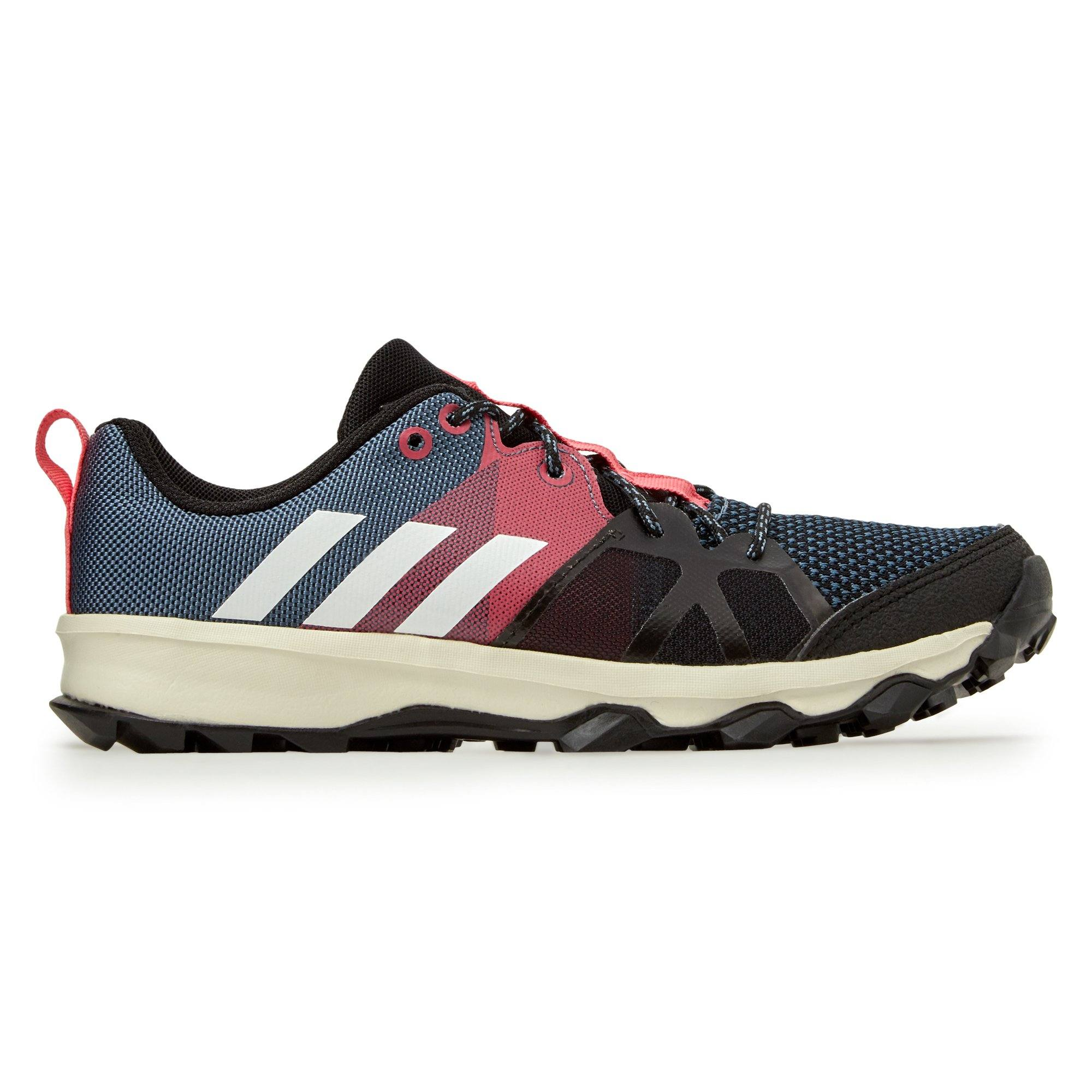 Adidas Kid's Kanadia 8.1 Shoes - Raw Steel/Off White/Real Pink Footwear Adidas  (2012422176827)