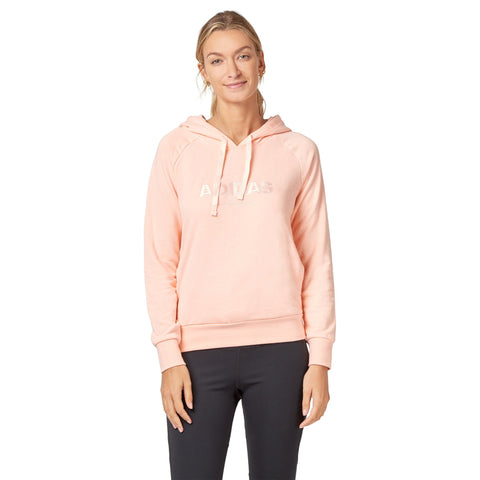 Adidas Women's Essentials Hoodie - Haze coral SportsPower Geelong