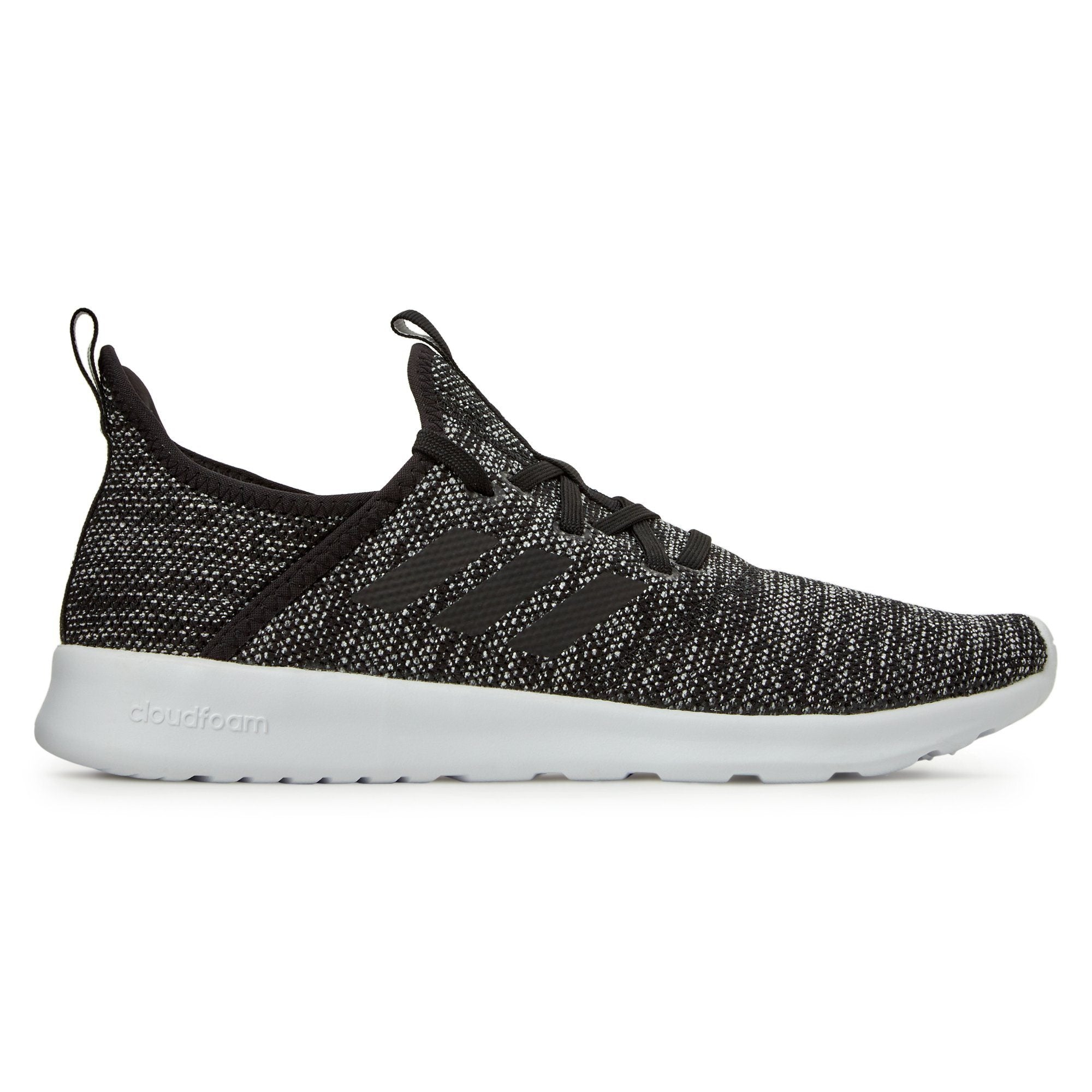 Adidas Women's Cloudfoam Pure Shoes - Core Black / Core Black / ftwr White Footwear Adidas