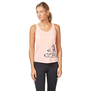 Adidas Women's Logo Tank Top - Haze coral SportsPower Geelong