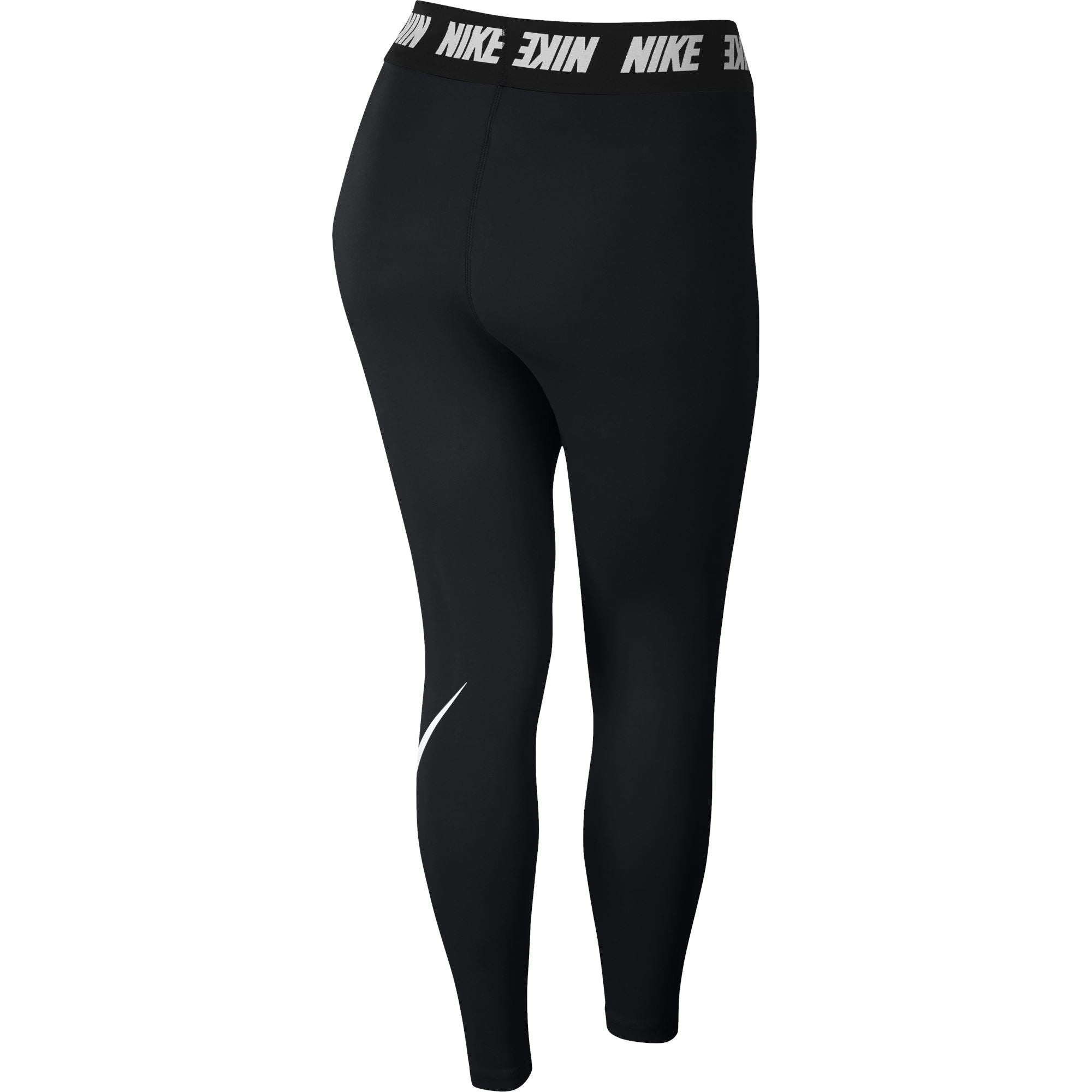295bb9de24 Nike Womens Sportswear Club High-Rise Legging - Black/White