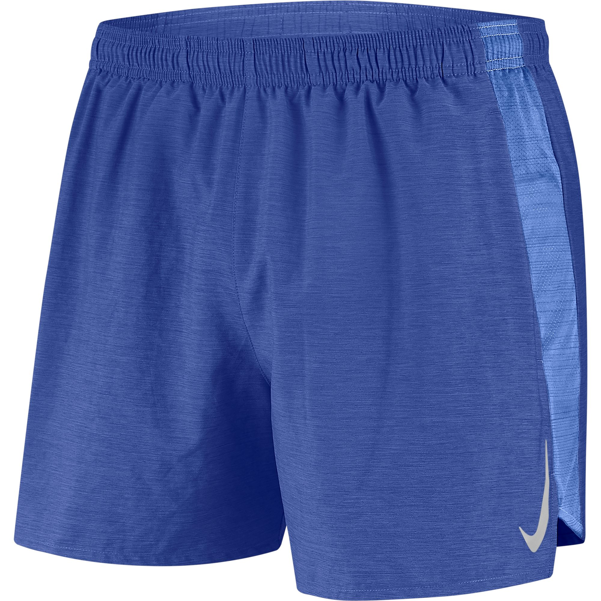 "Nike Mens Challenger 5"" Brief-Lined Running Shorts - Astronomy Blue/Reflective Silv SP-ApparelShorts-Mens Nike"