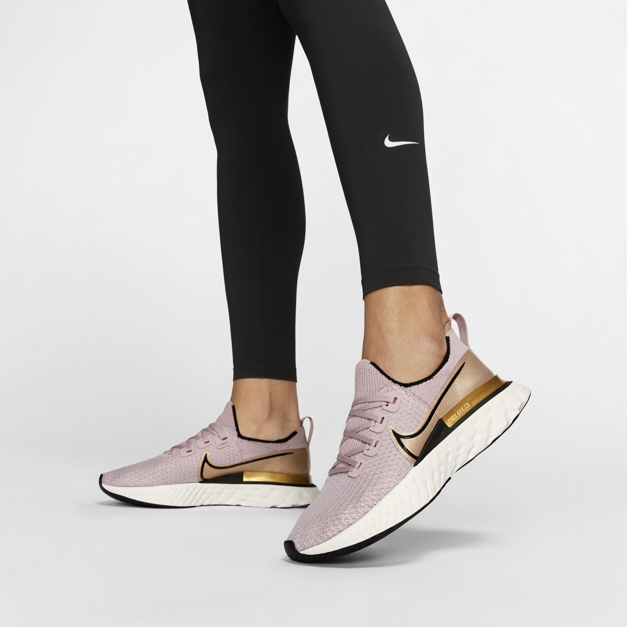 Nike Womens One Tights - Black/White SP-ApparelTights-Womens Nike