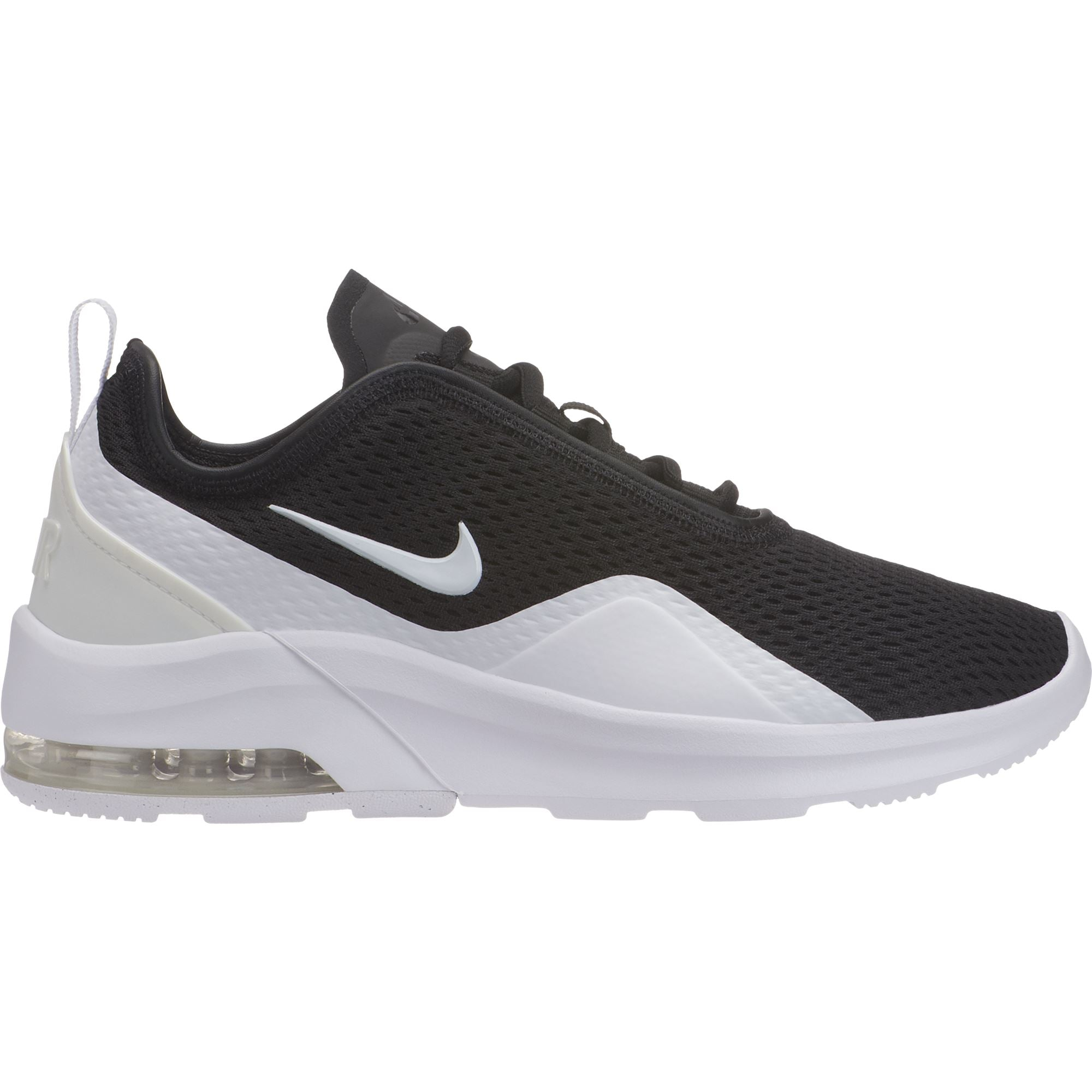 Nike Womens Air Max Motion 2 BlackWhite