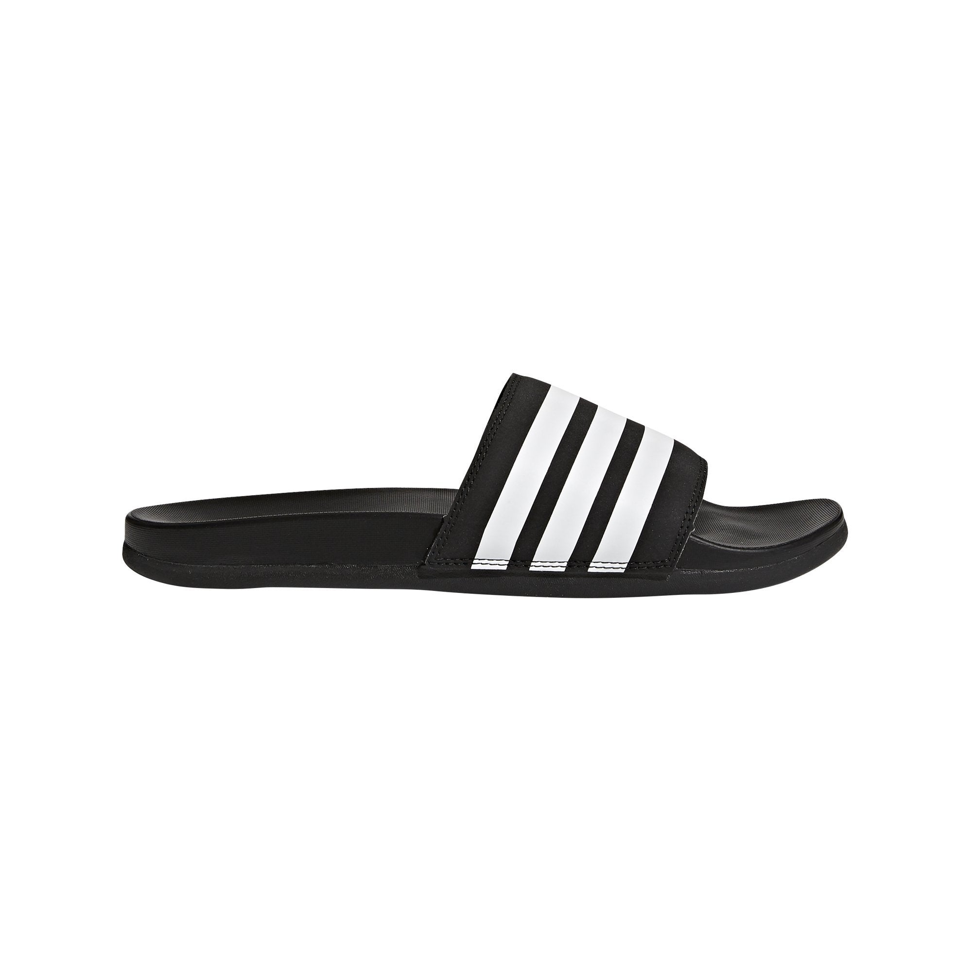 Adidas Adilette Cloudfoam Plus Slides - core blakc/ftwr white/core black SportsPower Geelong