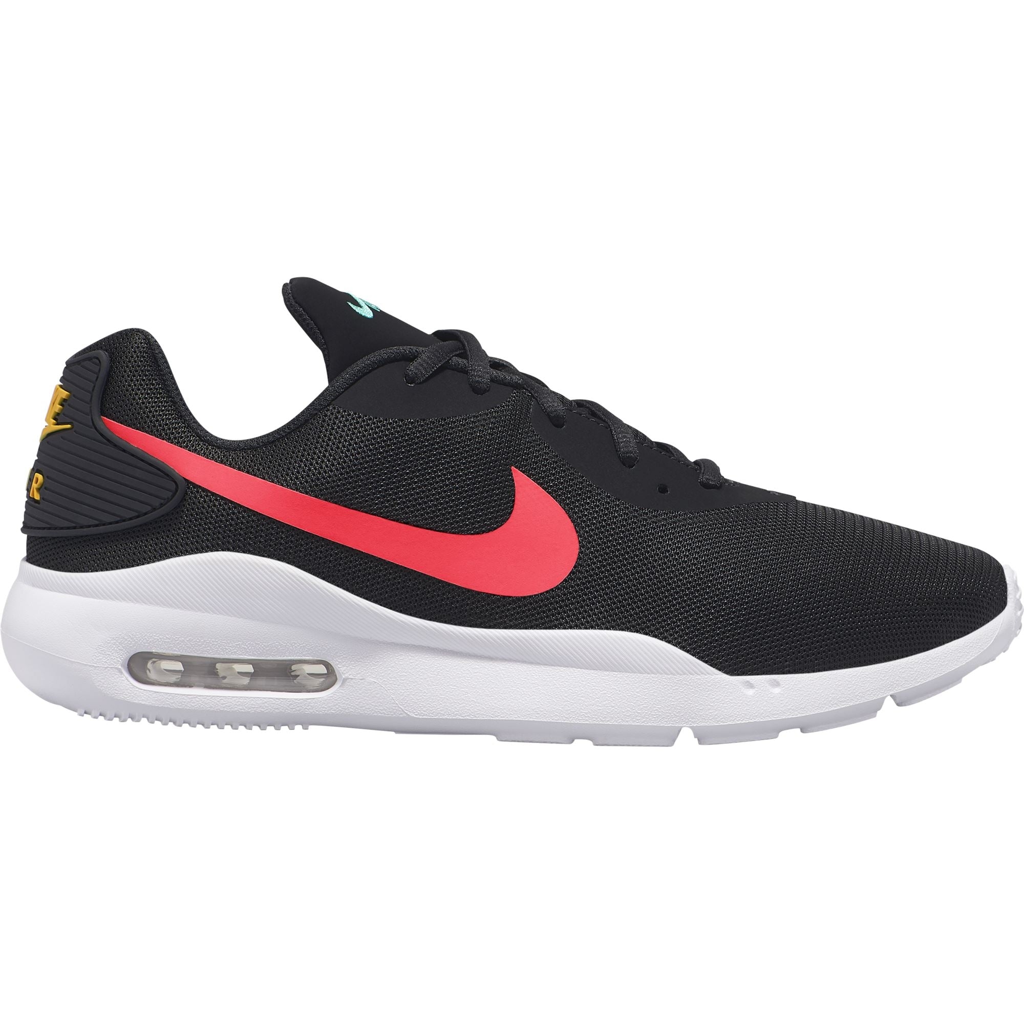 Nike Mens Air Max Oketo - Black/Flash Crimson-University Gold SP-Footwear-Mens Nike