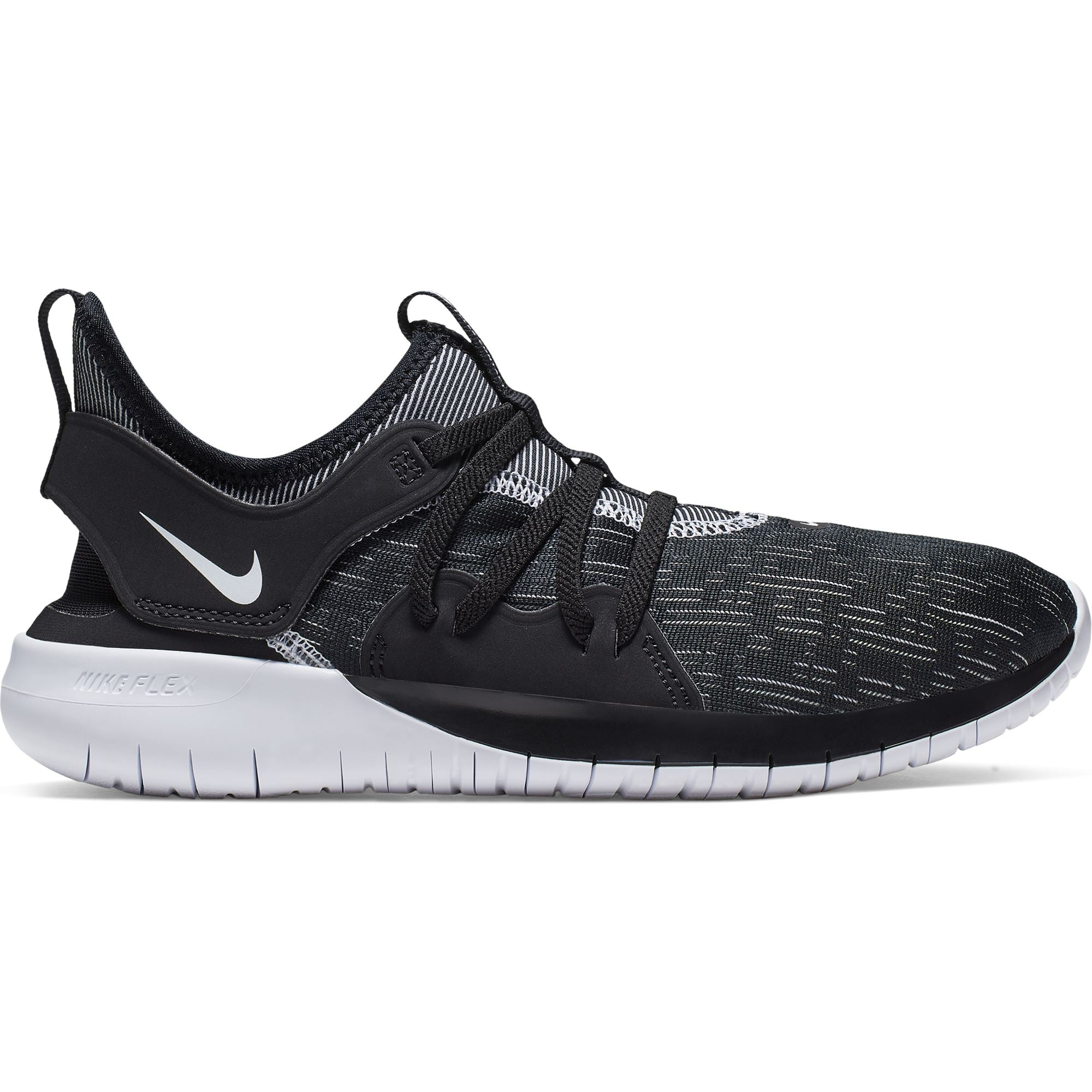 Nike Womens Flex Contact 3 - Black/White Q3NIKE Nike