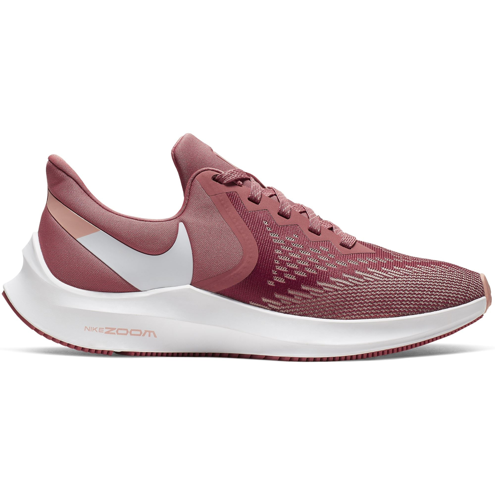 Nike Womens Air Zoom Winflo 6 - Light Redwood/White-Pink Quartz SP-Footwear-Womens Nike