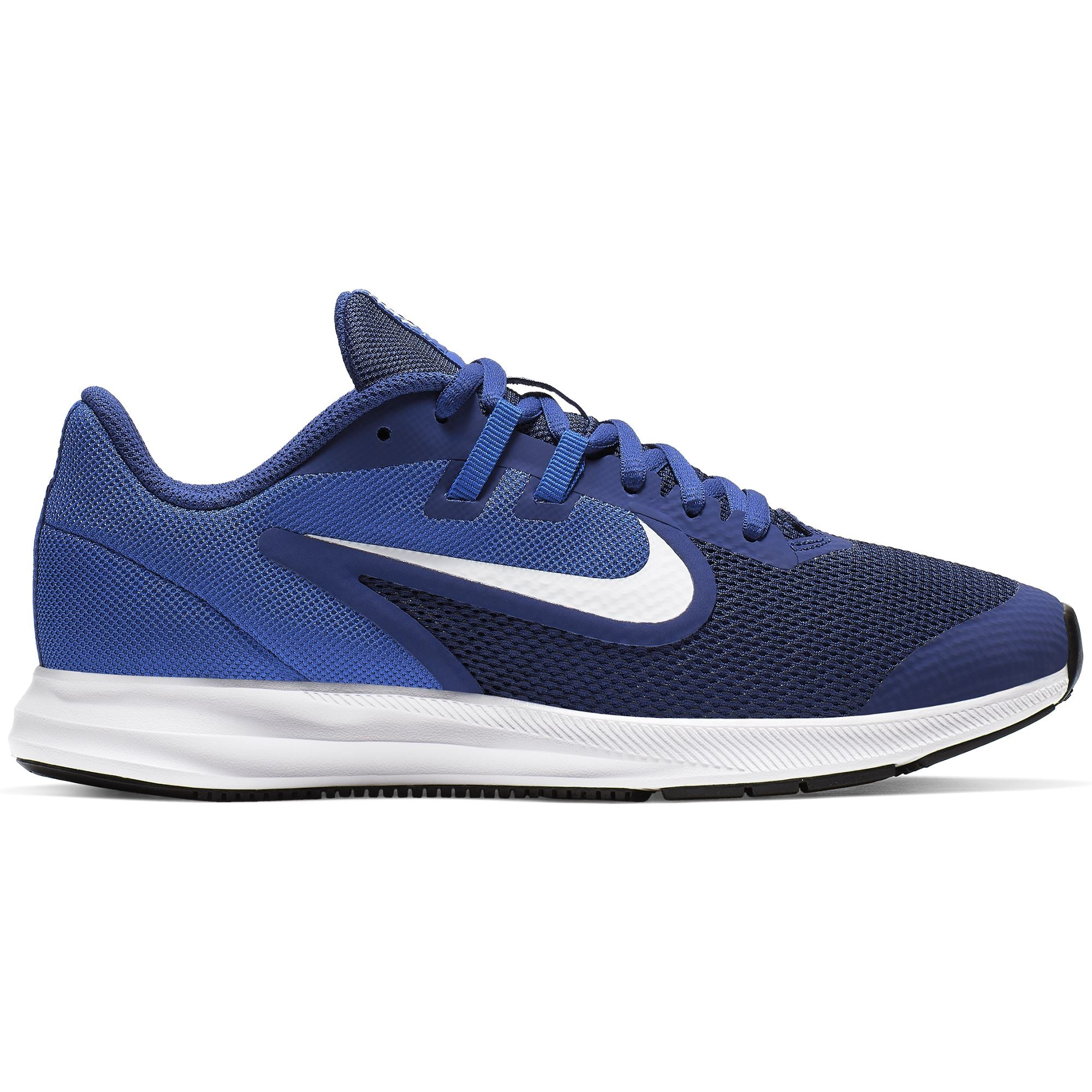 Nike Big Kids Downshifter 9 - Deep Royal Blue/White-Game Royal-Black Q3NIKE Nike