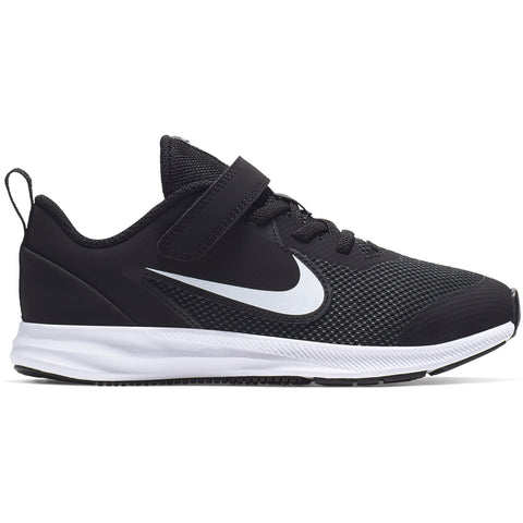 Nike Little Kids Downshifter 9 - Black/White-Anthracite-Cool Grey Q3NIKE Nike