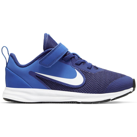 Nike Little Kids Downshifter 9 - Deep Royal Blue/White-Game Royal-Black Q3NIKE Nike