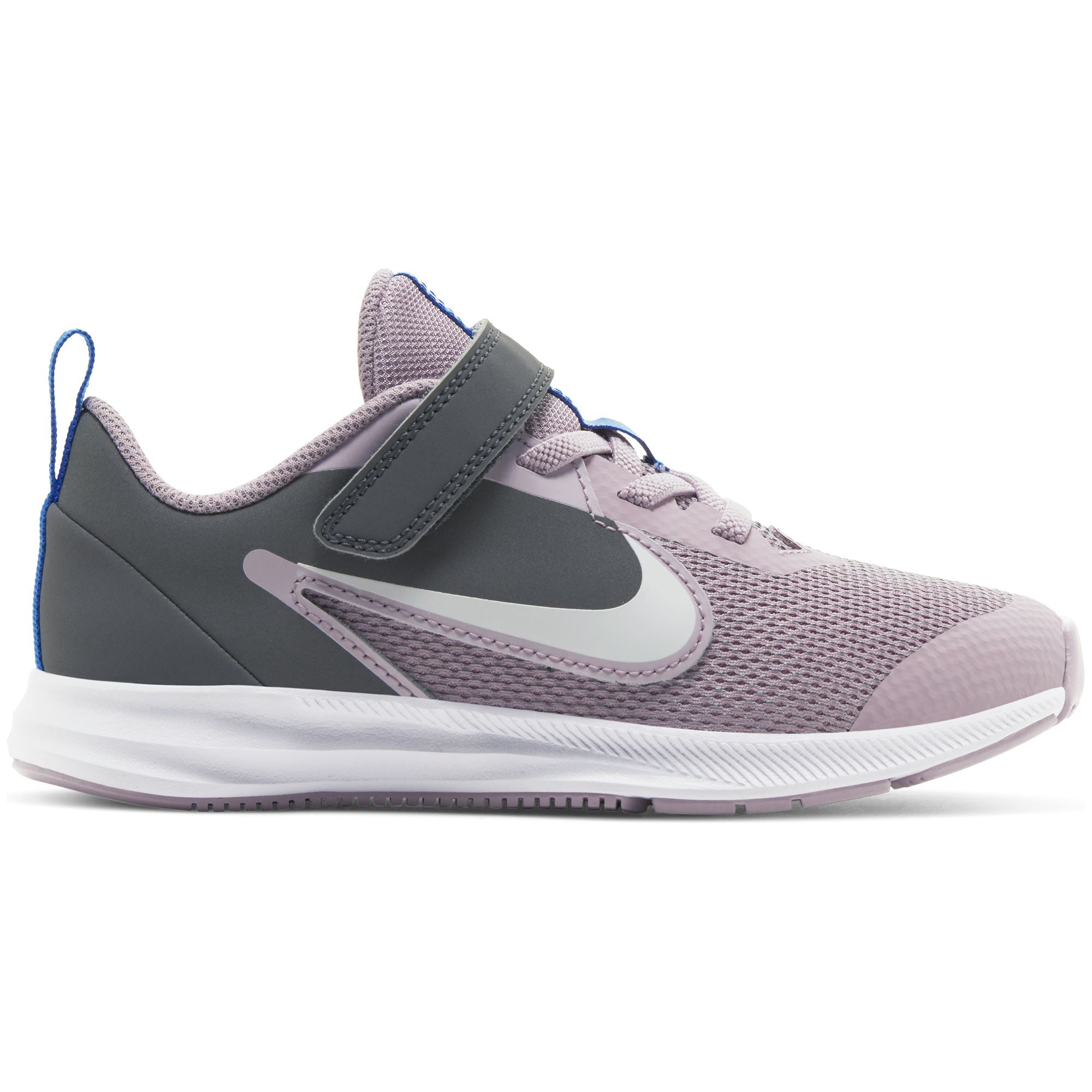 Nike Kids Downshifter 9 Little Kids Shoe - Iced Lilac/White-Smoke Grey-Soar SP-Footwear-Kids Nike