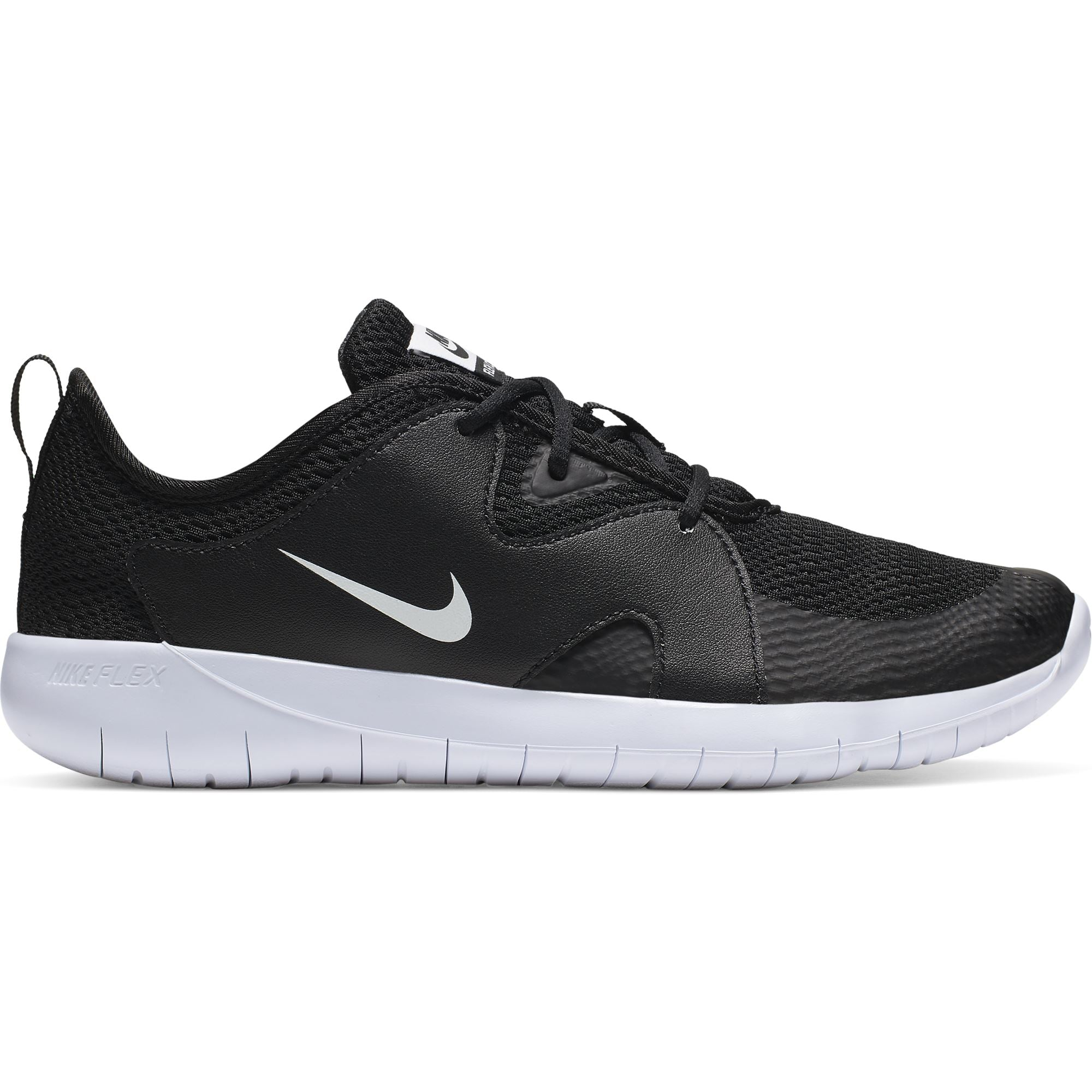Nike Boys Flex Contact 3 - Black/White SP-Footwear-KidsBoys Nike