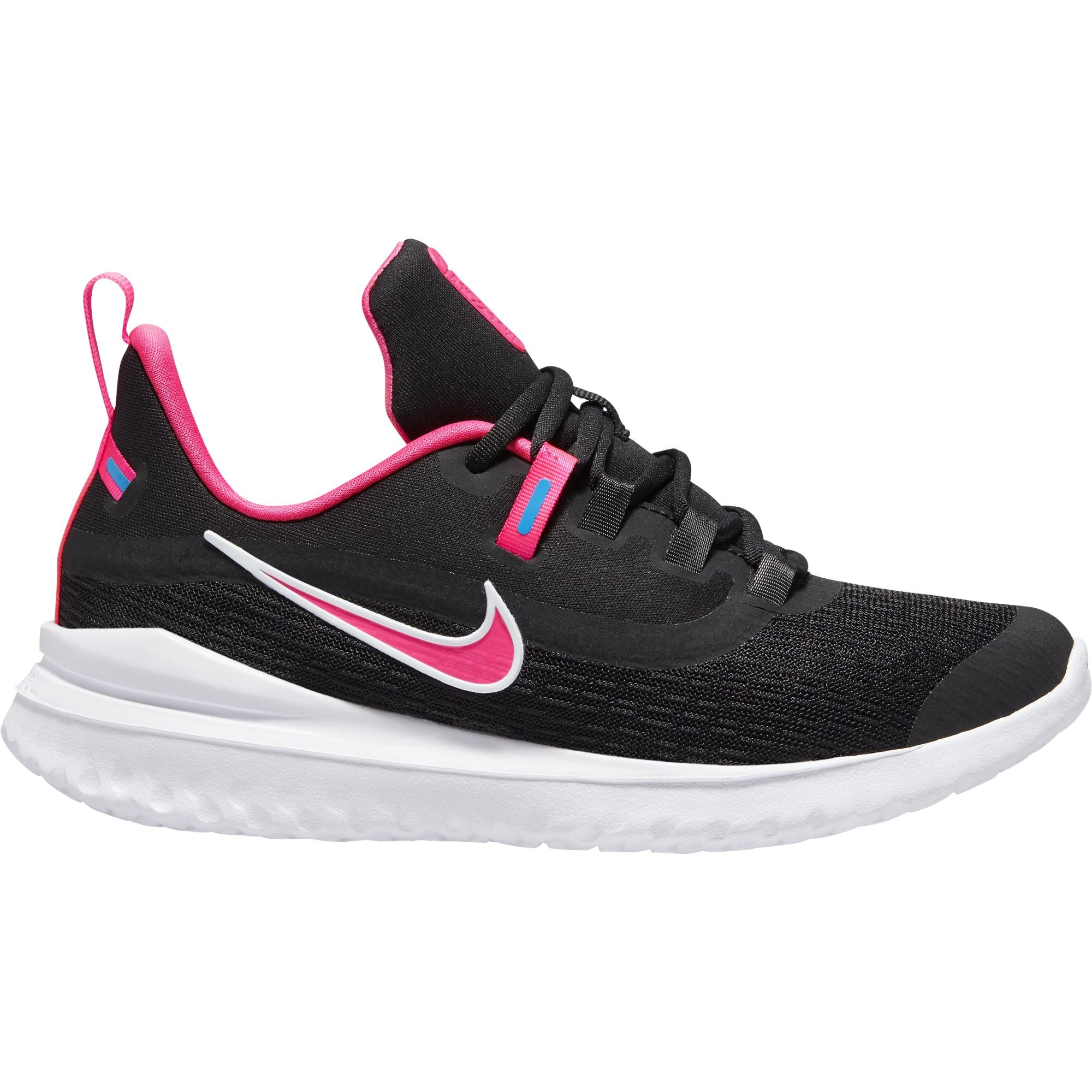 Nike Kids Renew Rival 2 Running Shoe - Black/Hyper Pink-Photo Blue-White SP-Footwear-Kids Nike