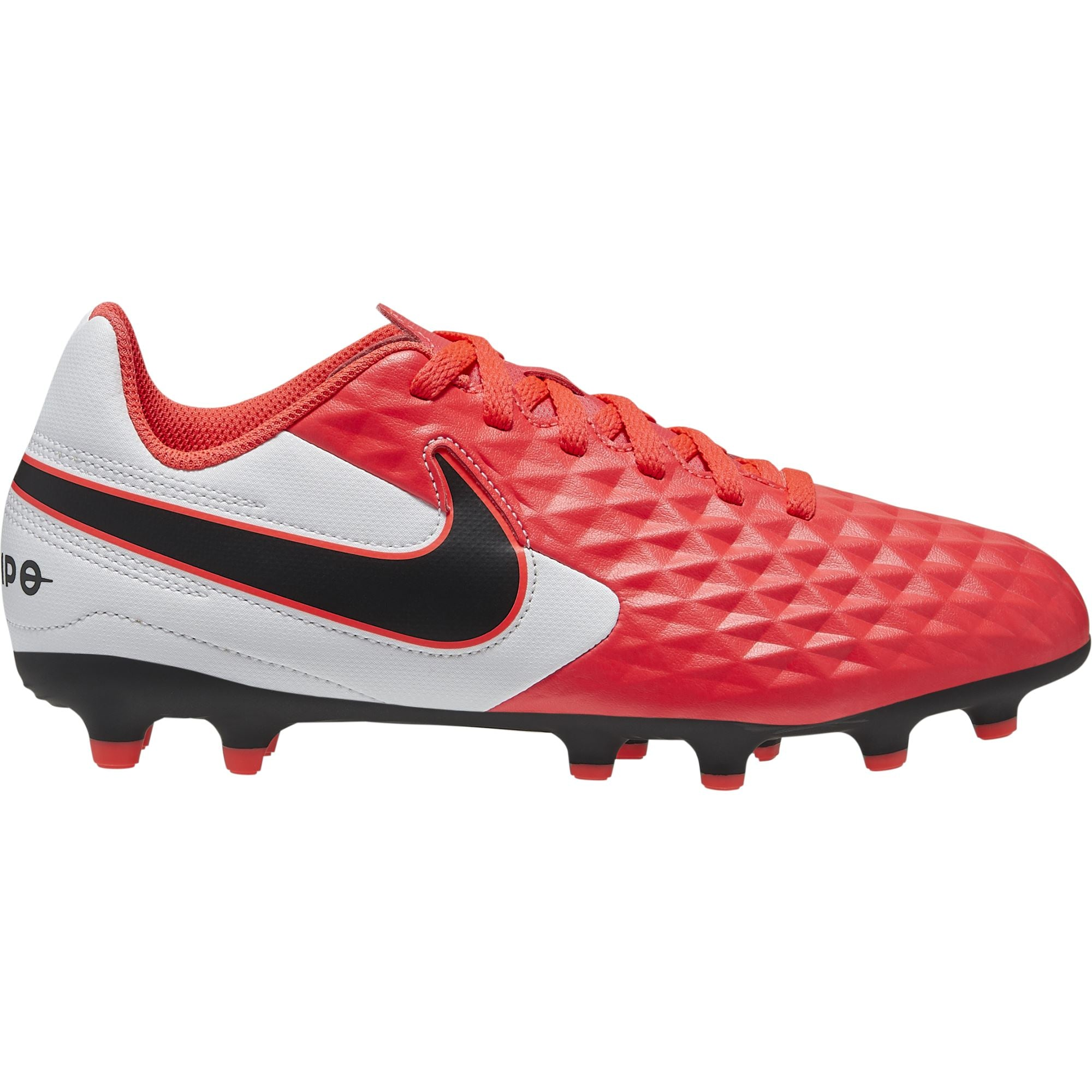 Nike JR Legend 8 Academy - Laser Crimson/Black/White SP-Footwear-Kids Nike