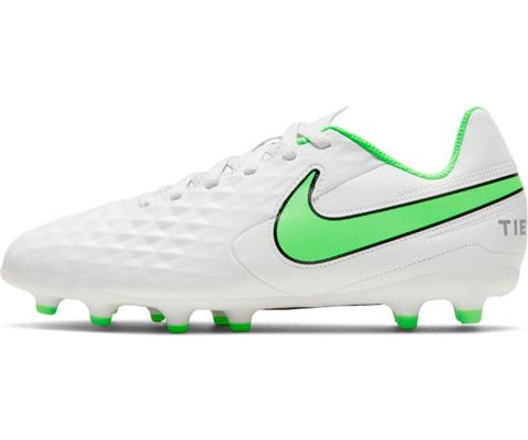 Nike Jr. Tiempo Legend 8 Club Mg - Platinum Tint/Rage Green SP-Footwear-Kids Nike